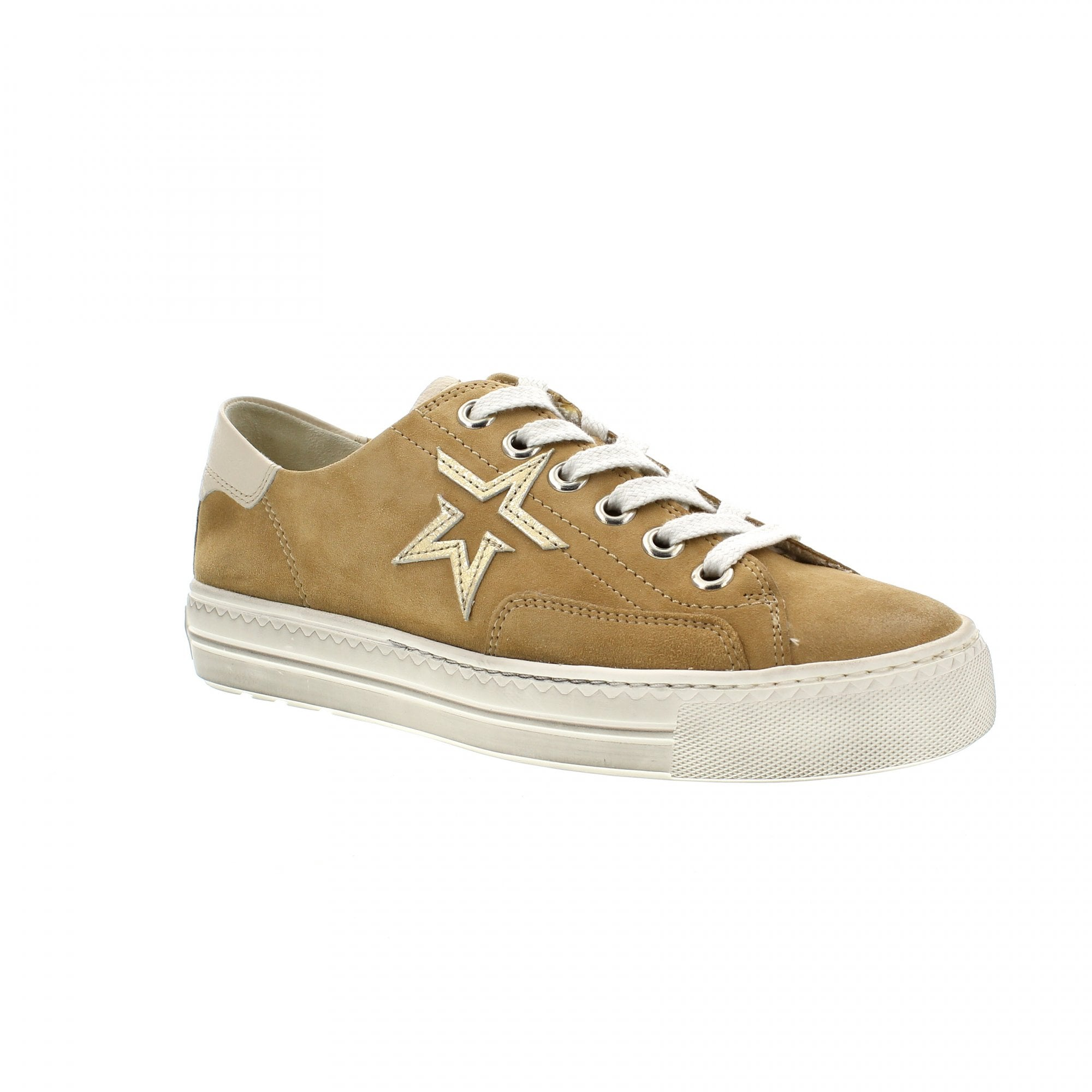 4810 206 Camel Suede Womens Trainers