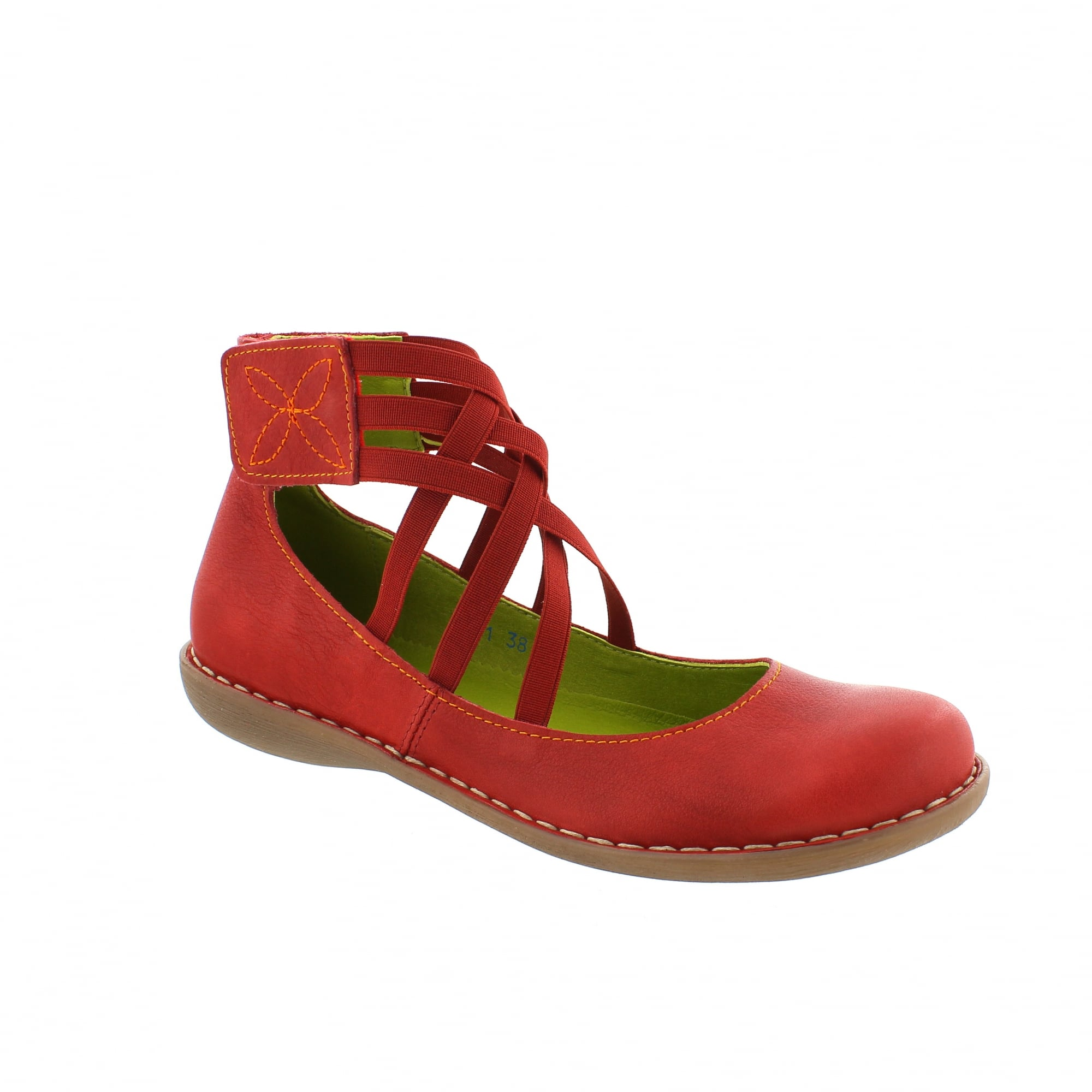 4447f2088ada4 Jungla 4851-v60 Red Leather Mary Jane Bar Shoes   Rogerson Shoes