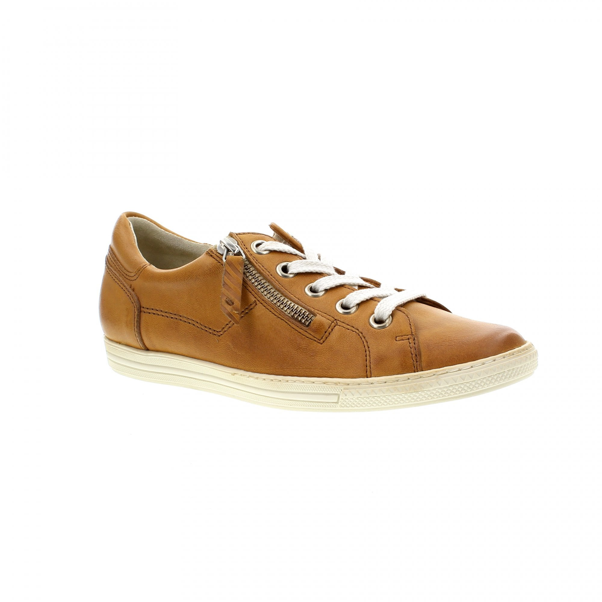 4940 056 Tan Leather Womens Trainers