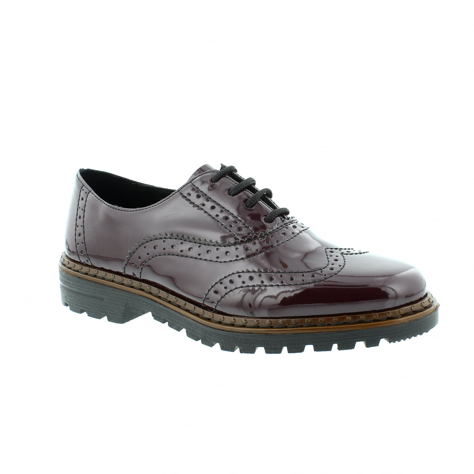 Womens 54812 Brogues Rieker