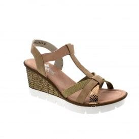 8744a14fd5f Rieker 65590-90 Womens Sandals