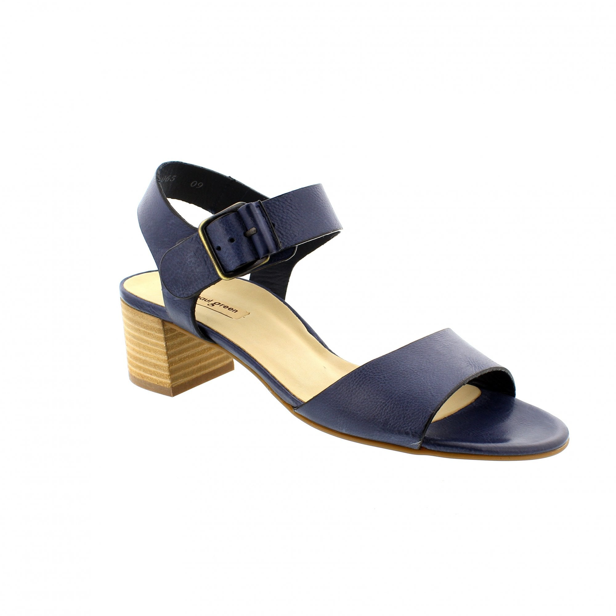 Paul Green 7402-024 Navy Leather Womens