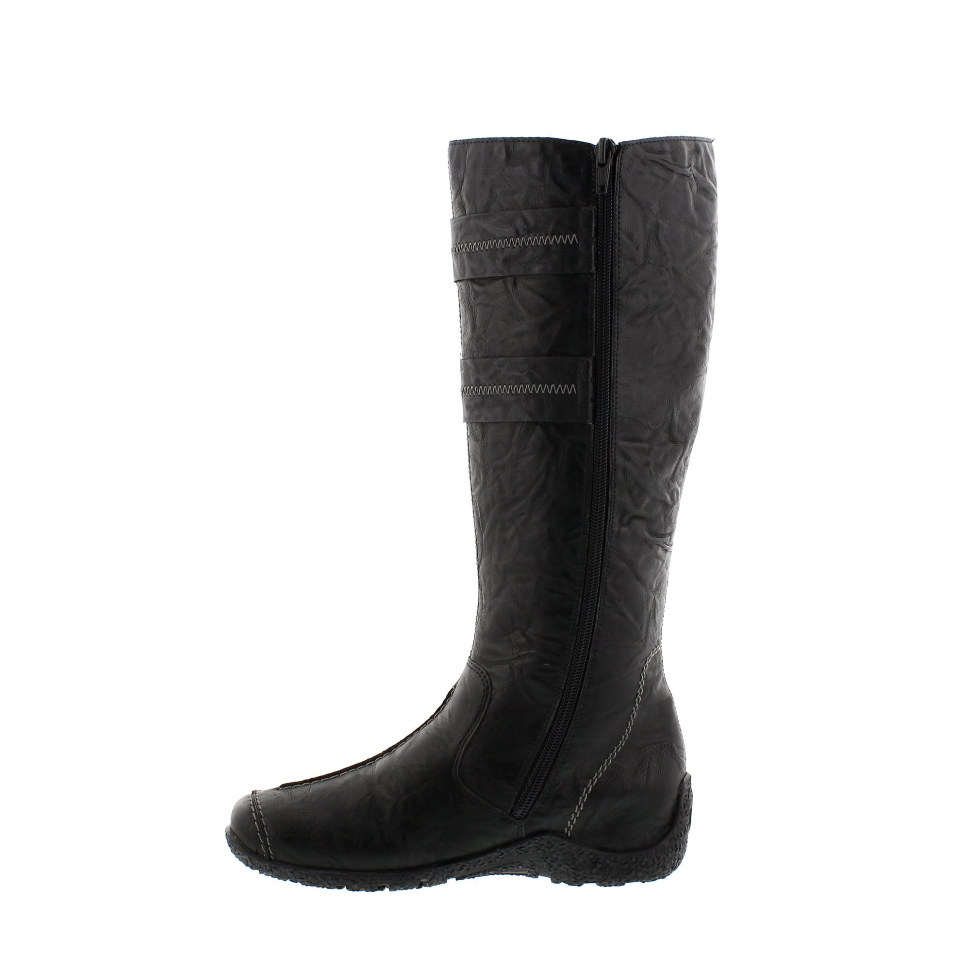 Rieker Astrid 79983 Synthetic Casual Calf Length Boots Womens Boots