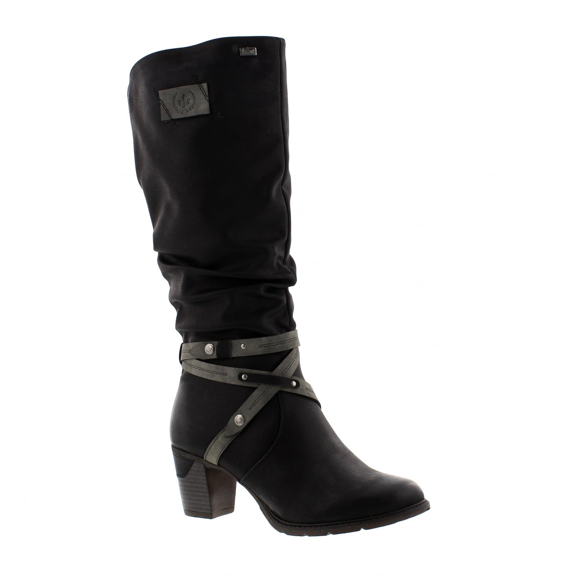 Damen Schöne Wahl 79954 00 Komfort Stiefel von Rieker