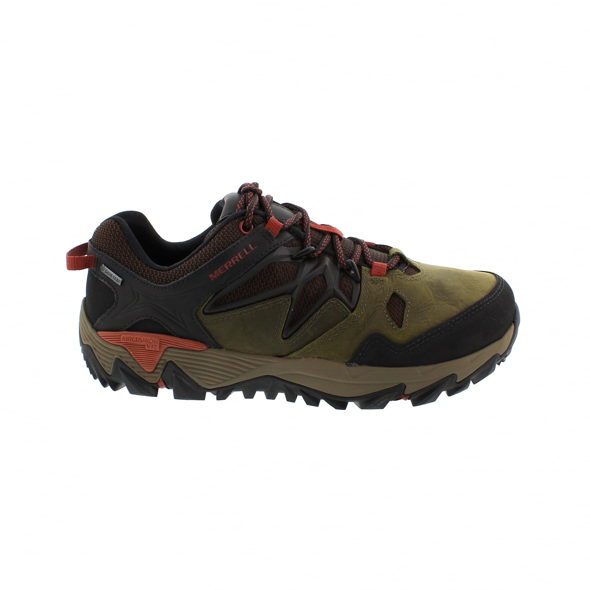 Merrell Mens All Out Blaze 2 GORE-TEX Walking Shoes Brown Sports Trainers