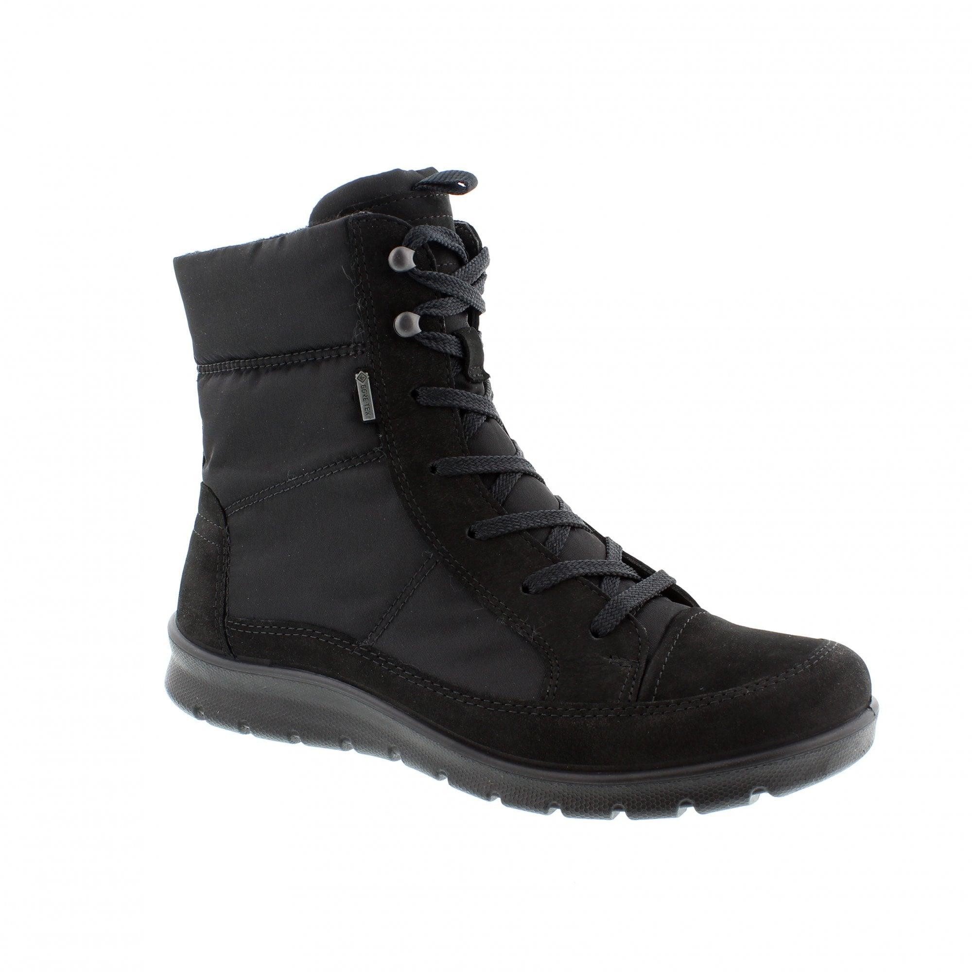 affba695412 Ecco Babett 215553-02001 Womens Ankle Boots