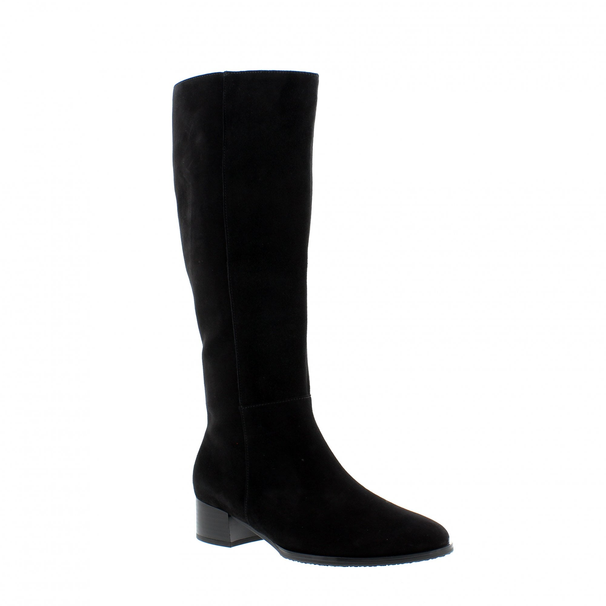 sells outlet boutique famous brand Gabor Dani M-Fit Black 35-509-17 Suede Knee High Boots | Rogerson ...