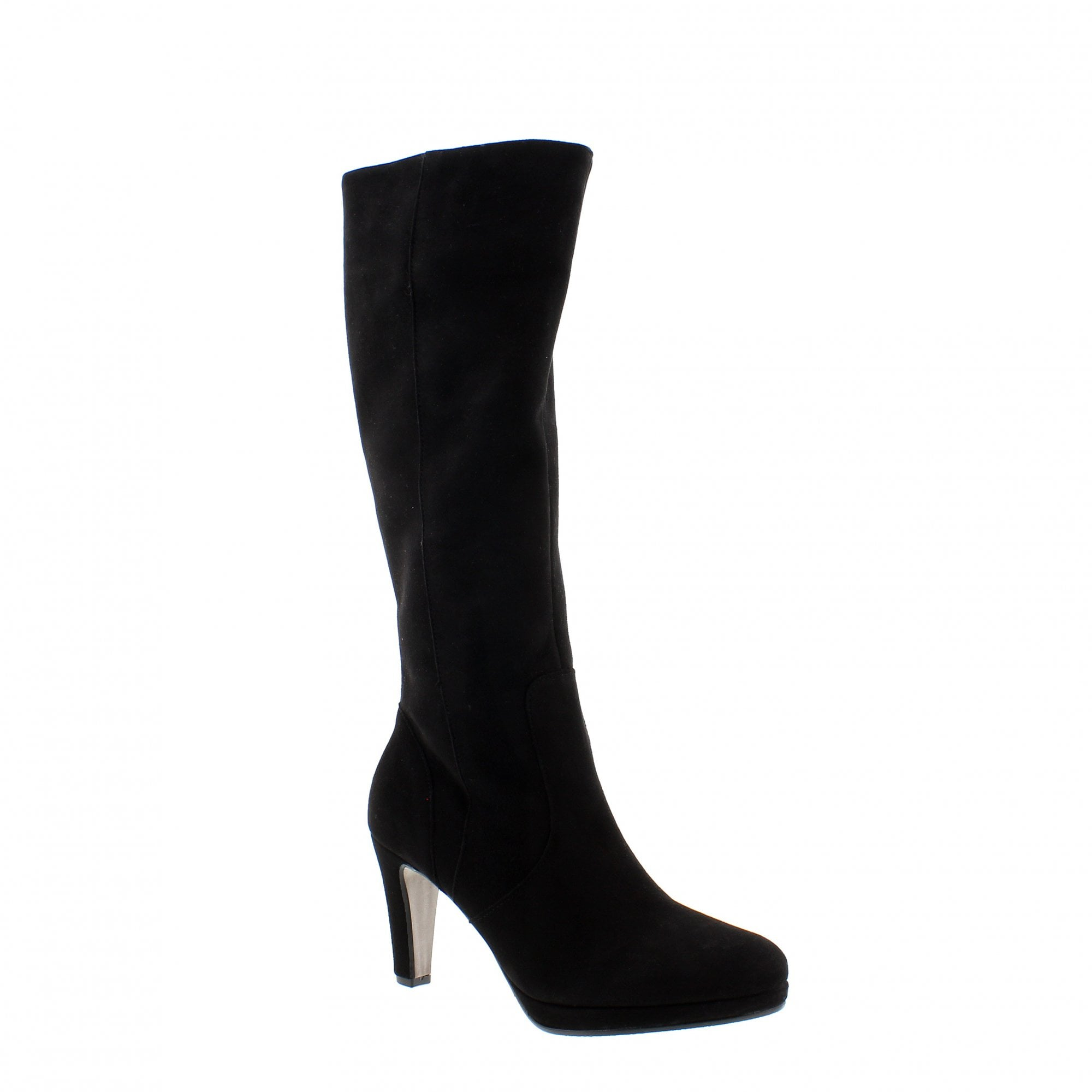 speical offer latest reliable quality Gabor Drama 36-869-17 Black Suede Knee High Boots | Rogerson Shoes