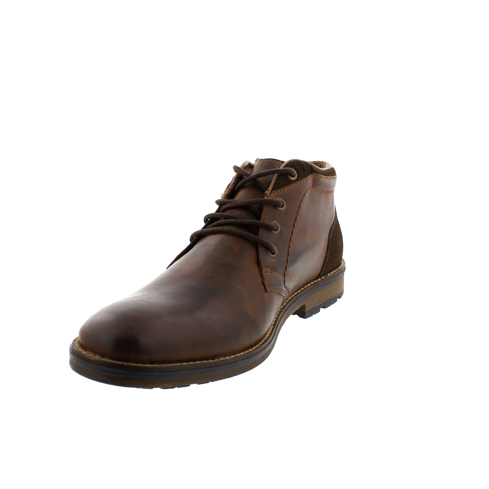 56e13dafb39d6b Rieker F5531-22 Brown Leather Mens Ankle Boots