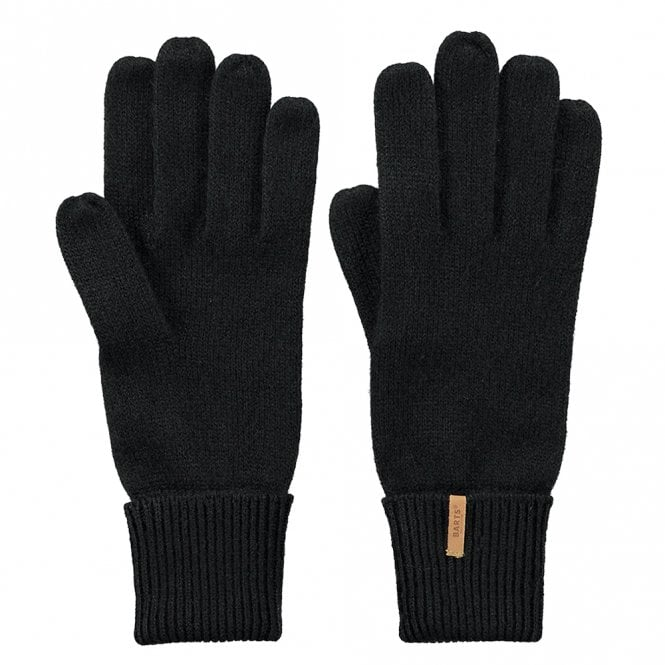 Fine Knitted Gloves | 0061-01 | Black