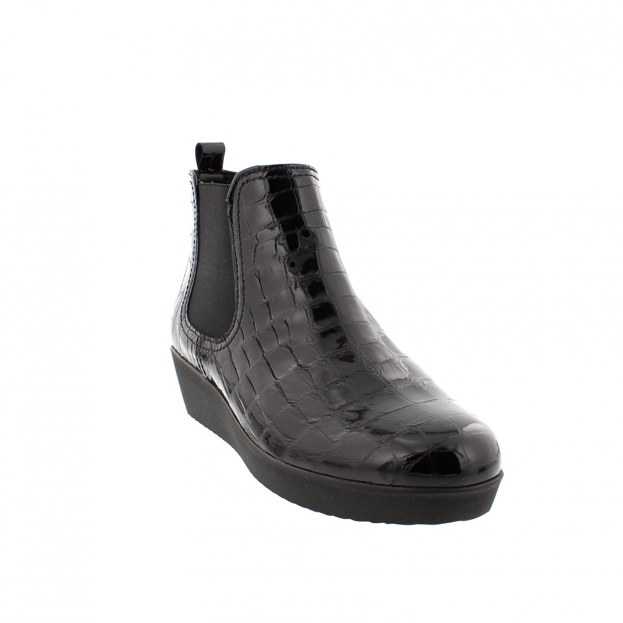 Gabor Ghost 96-050-97 Black Patent Croc