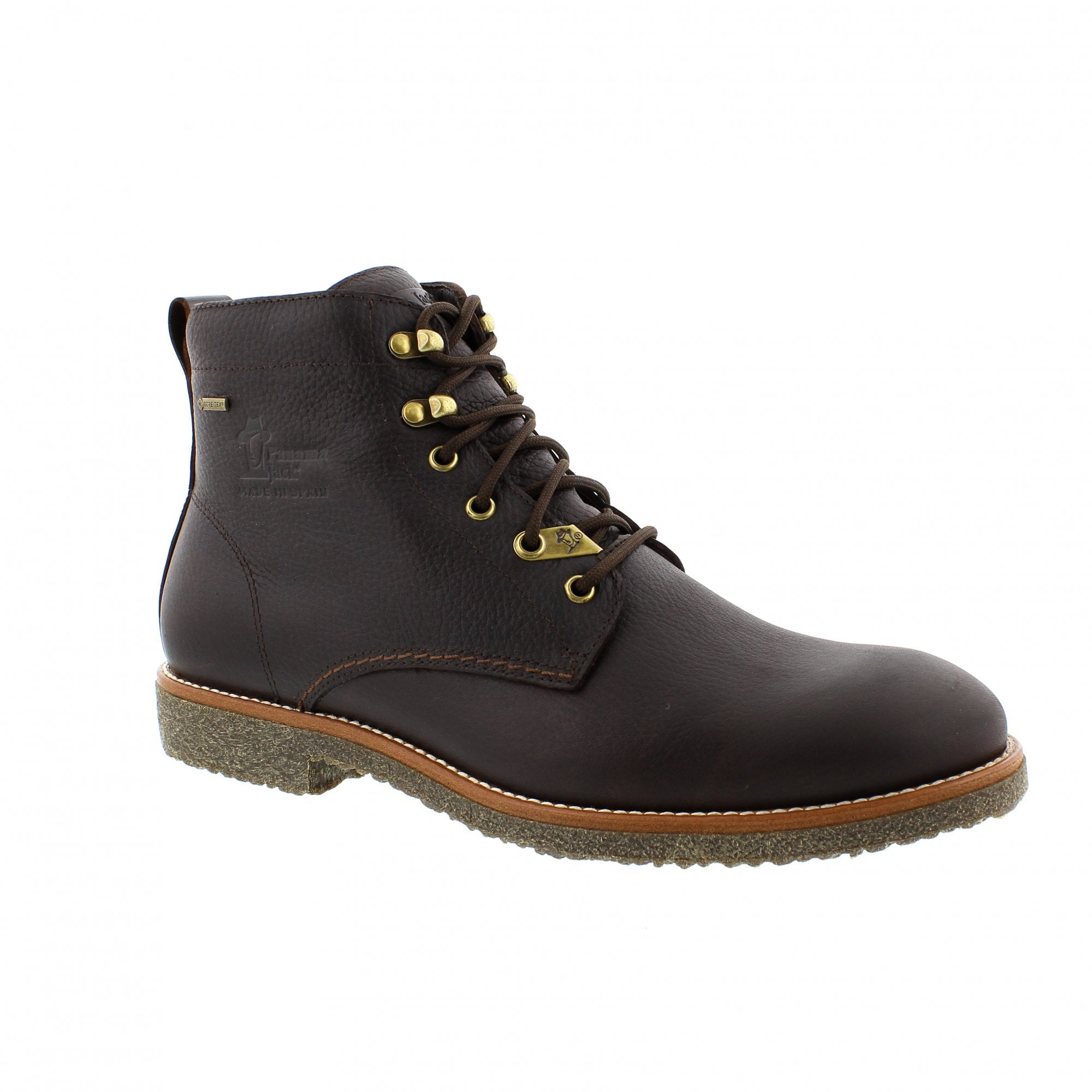 05c656171be638 Panama Jack Brown Glasgow GTX Mens Ankle Boots