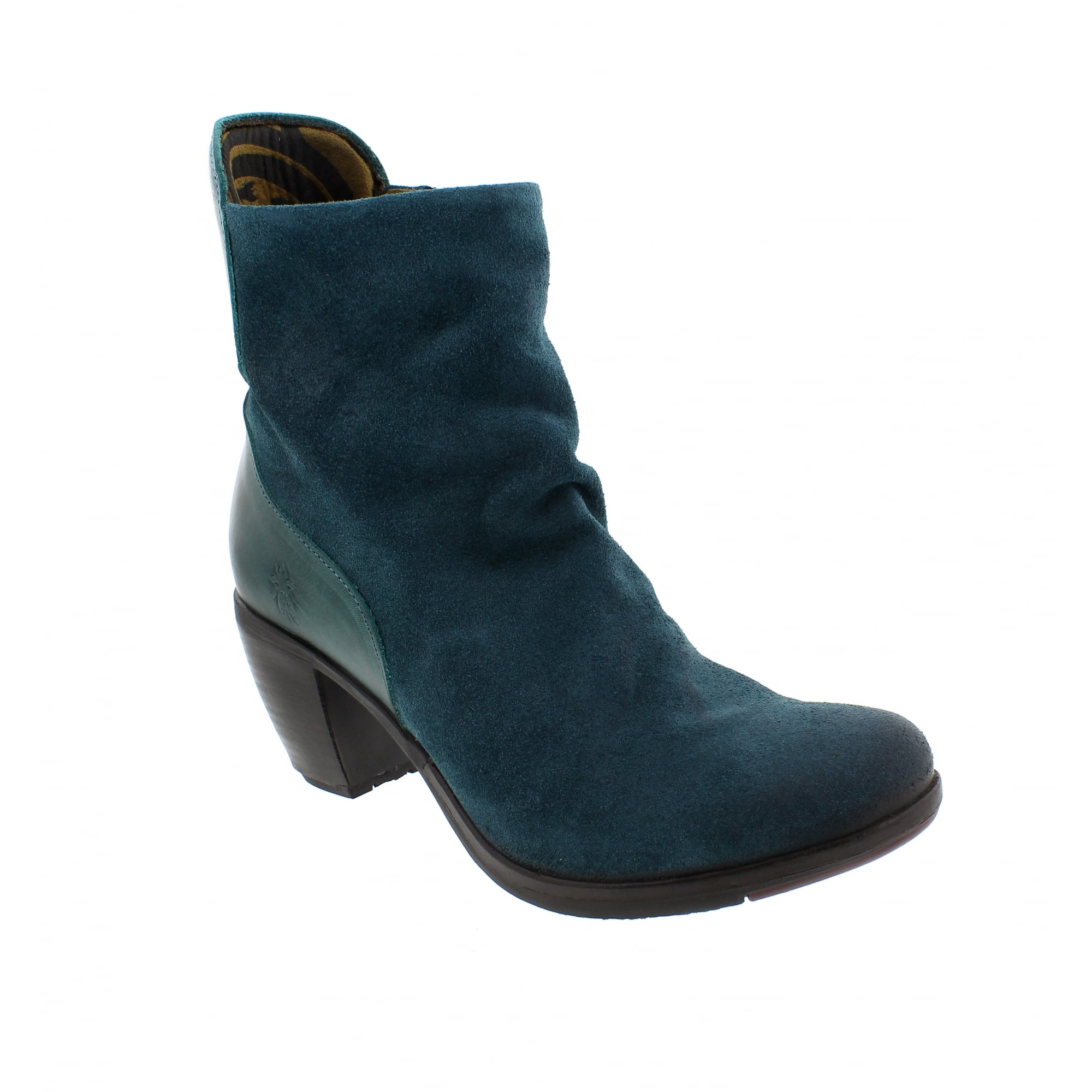 Fly London Hota Ankle Boots Teal | Fly