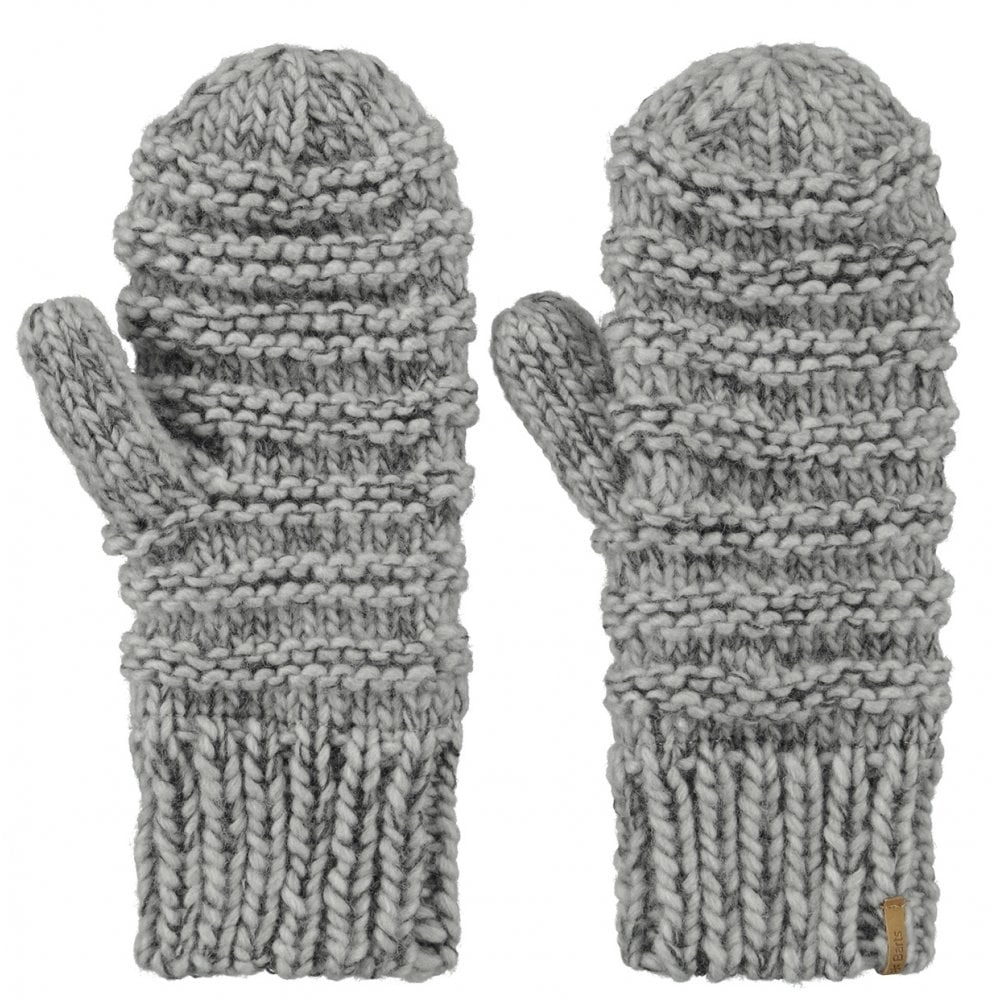 96bcf56da Jasmin Mitts | 1041-02 | Heather Grey