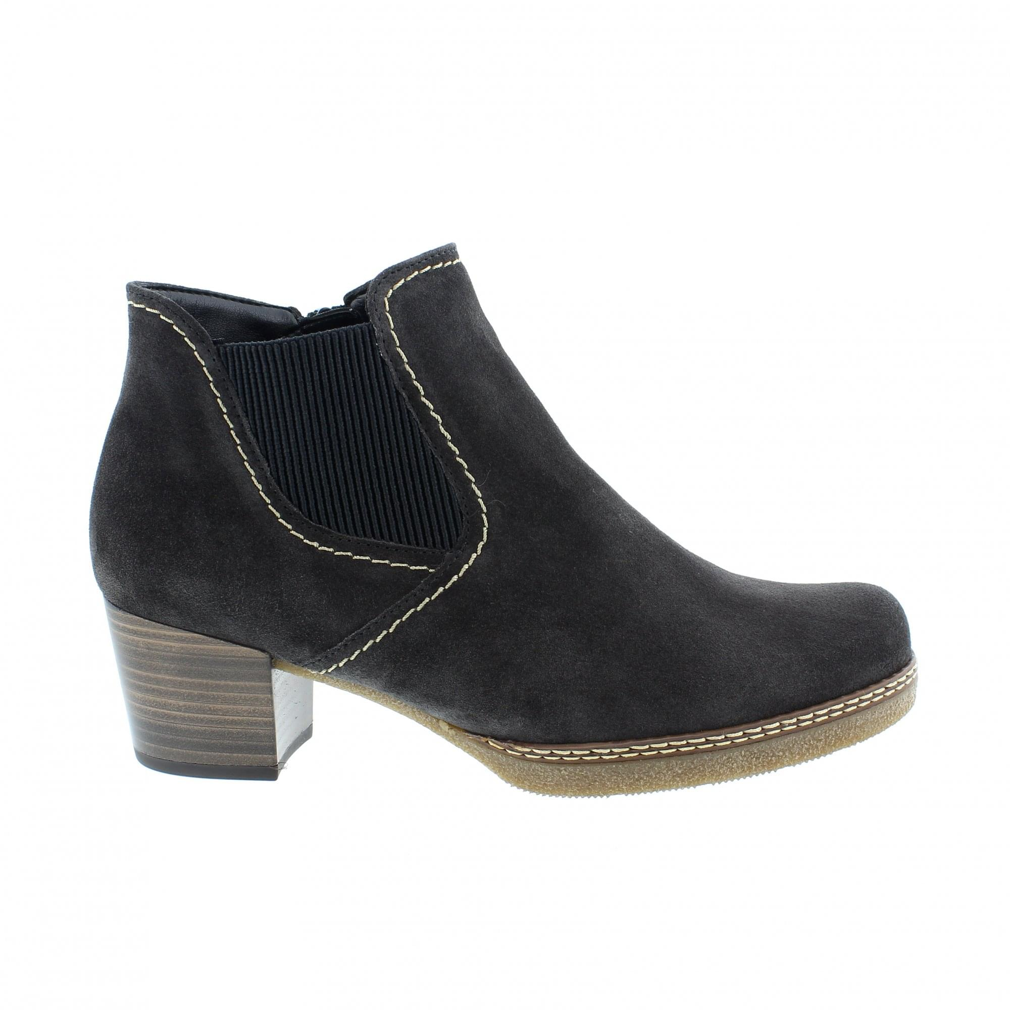 661-39 Grey Suede Womens Chelsea Boots