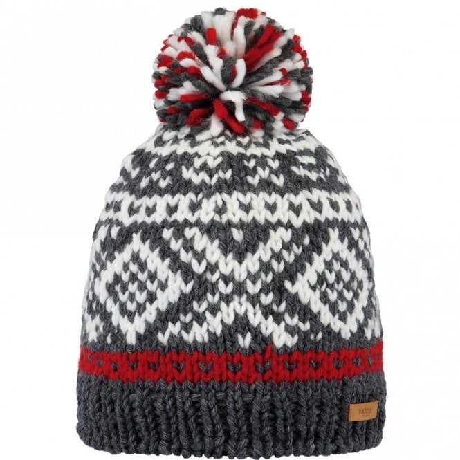 Log Cabin Beanie | 1105-19 | Dark Heather