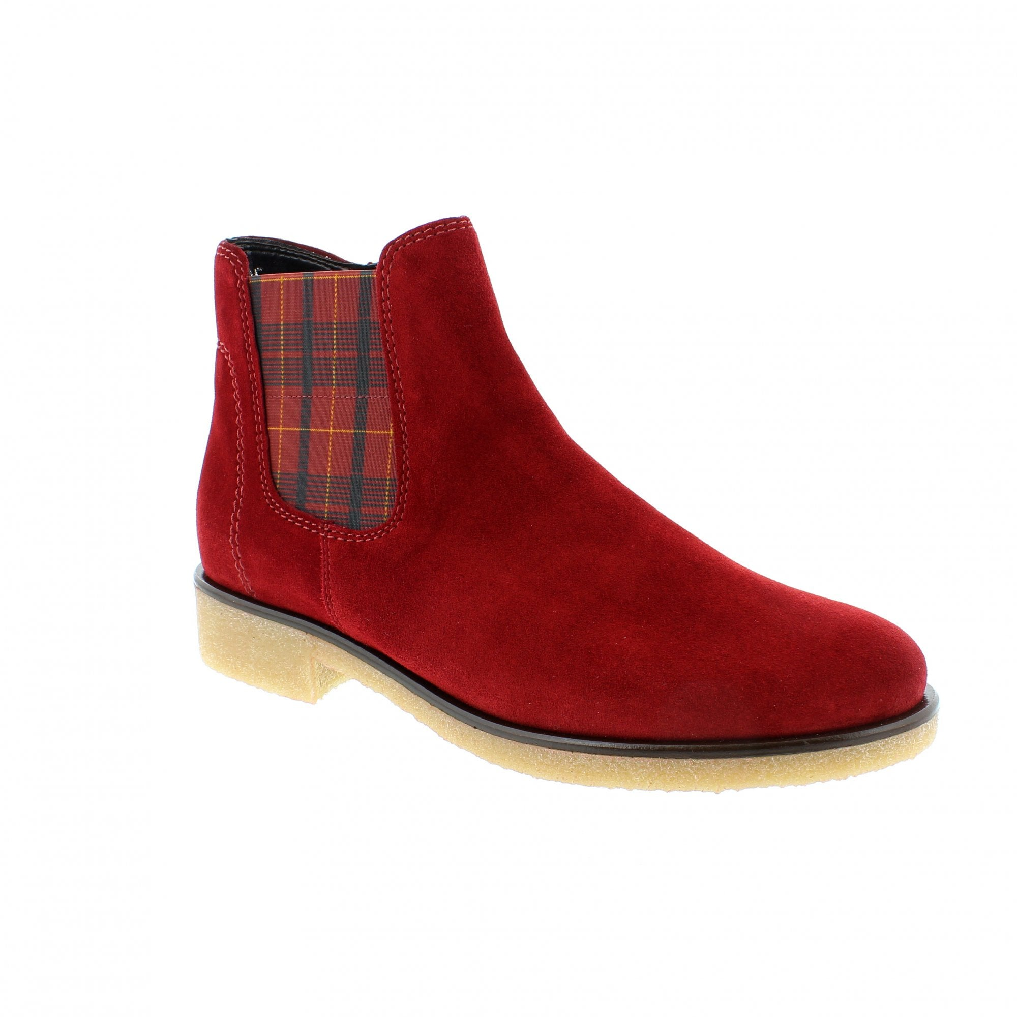 Gabor Maeve Red Suede Womens Chelsea