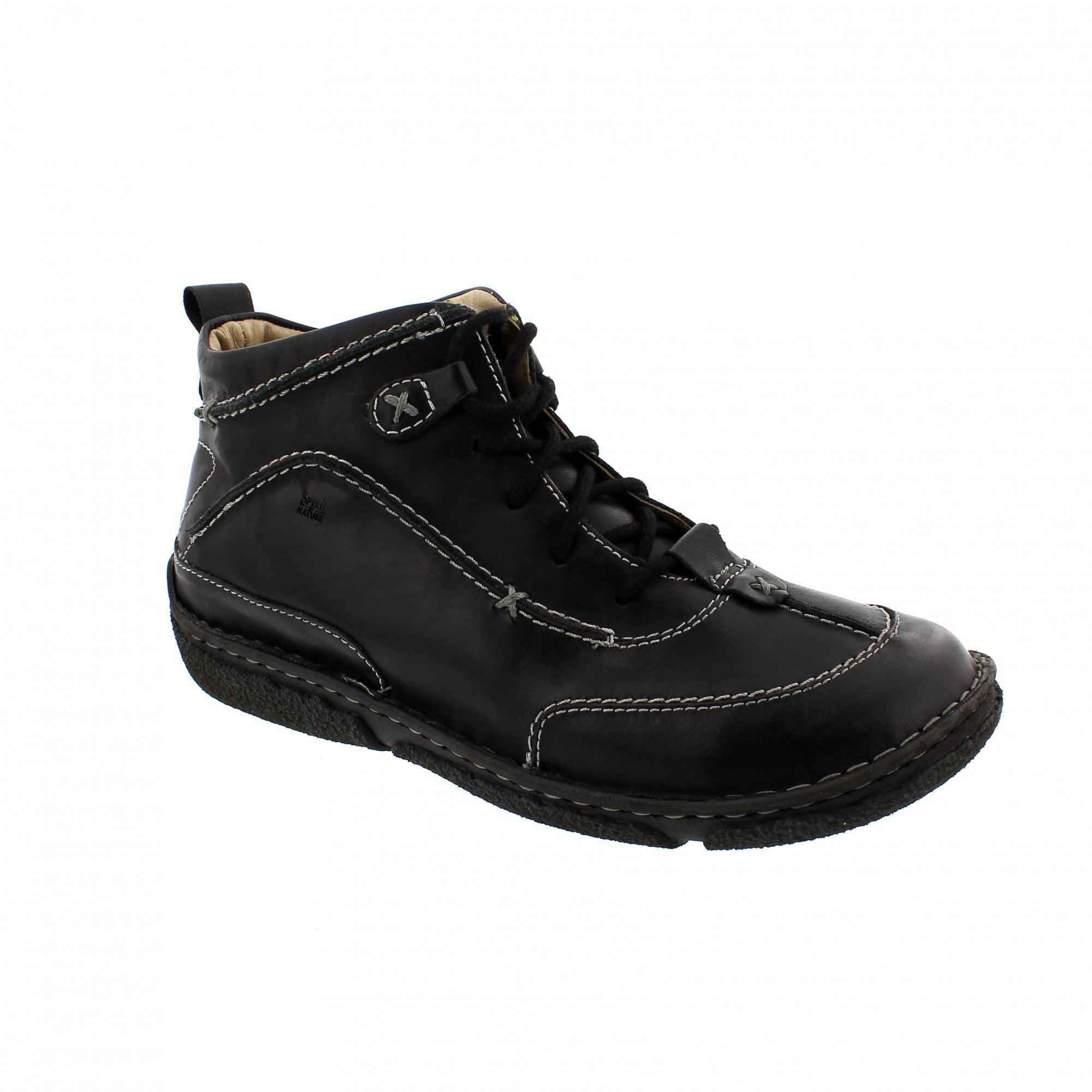 765594fb54c4eb Josef Seibel Nikki 85026-950600 Black Chukka Boots