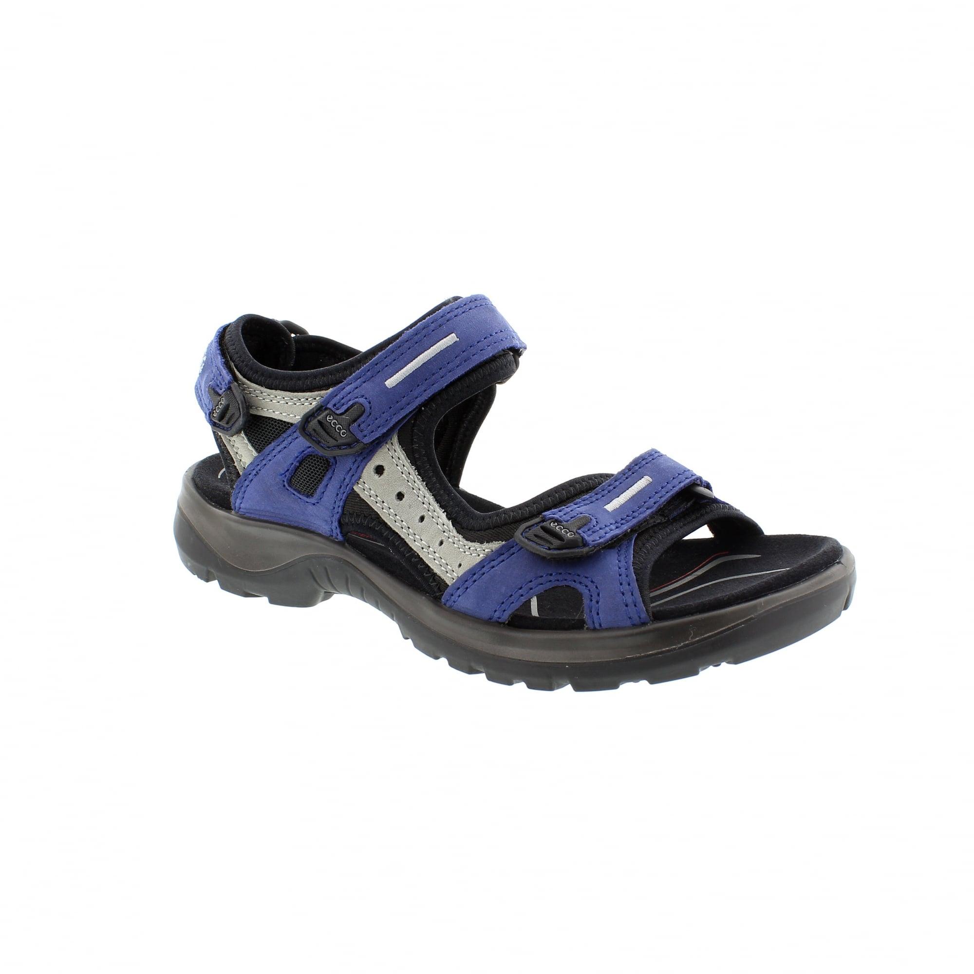 ECCO Offroad Navy/Grey Womens Sandals