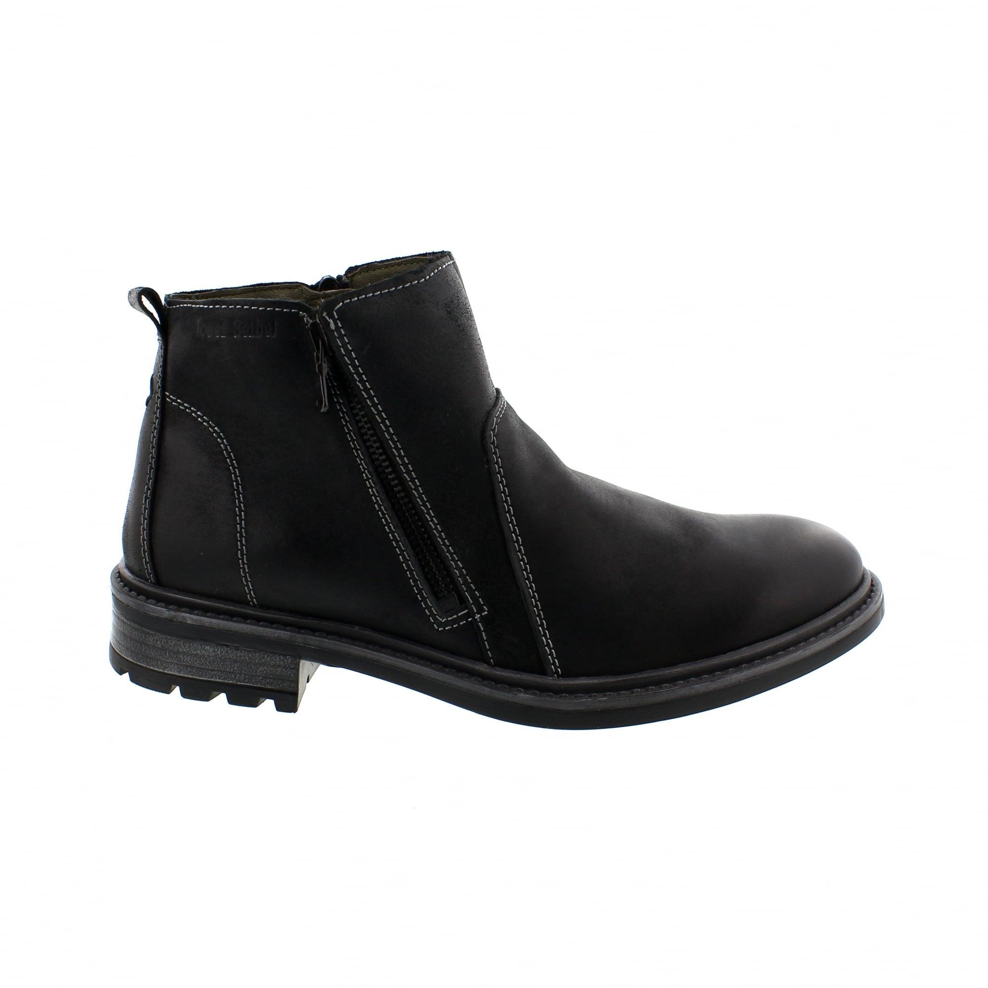 f5117ea86de67 Josef Seibel Oscar 31 36731-MA977100 Black Chelsea Boots | Rogerson ...