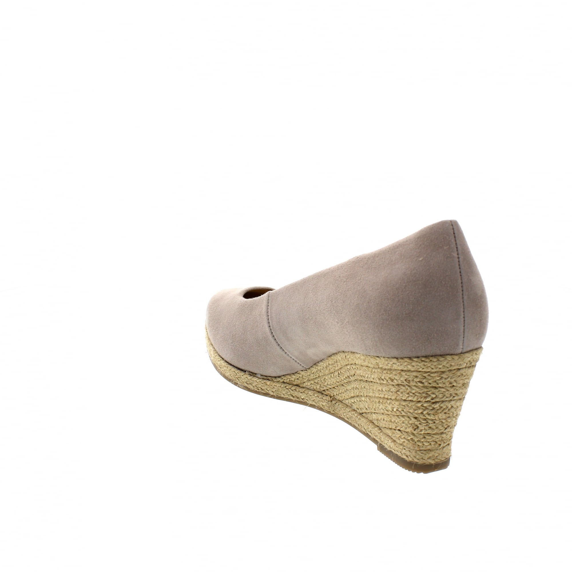 6264f243e0 Gabor Paisley 84-440-13 Beige Suede Womens Wedge Pumps | Rogerson Shoes