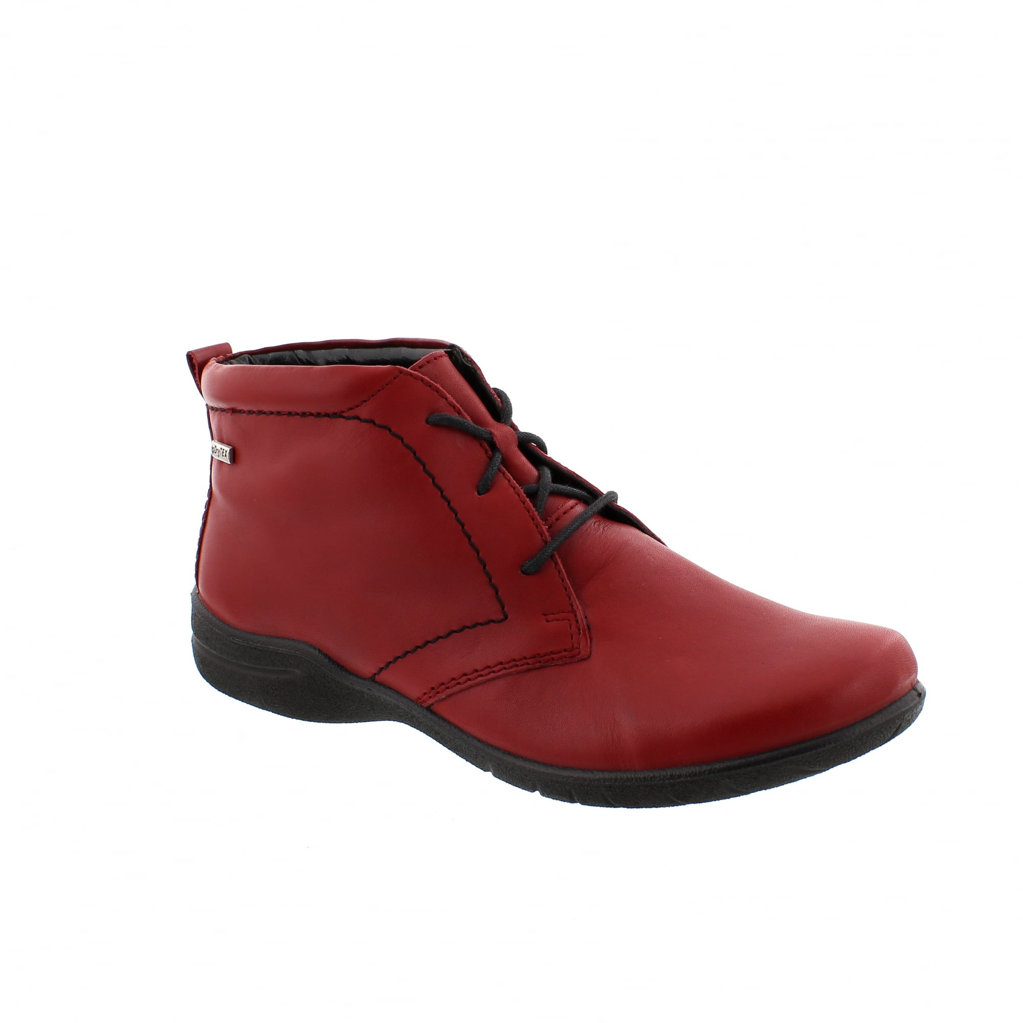 1ed700f3694c7 Josef Seibel Fabienne 4 Red Womens Ankle Boots | Rogerson Shoes