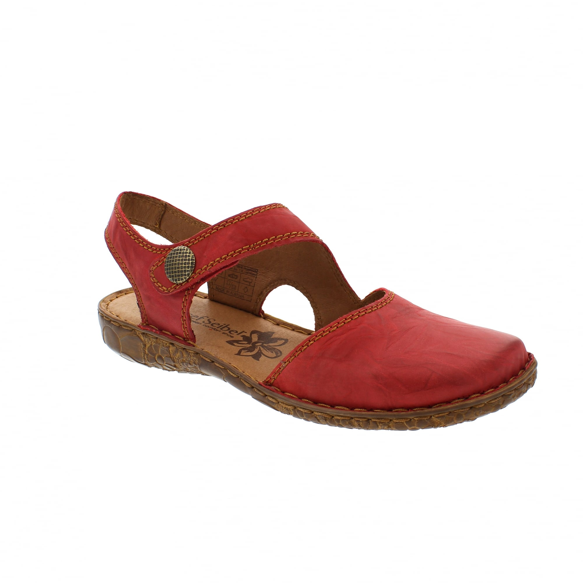 93956554141c Josef Seibel Rosalie 27 79527-95450 Red Womens Sandals
