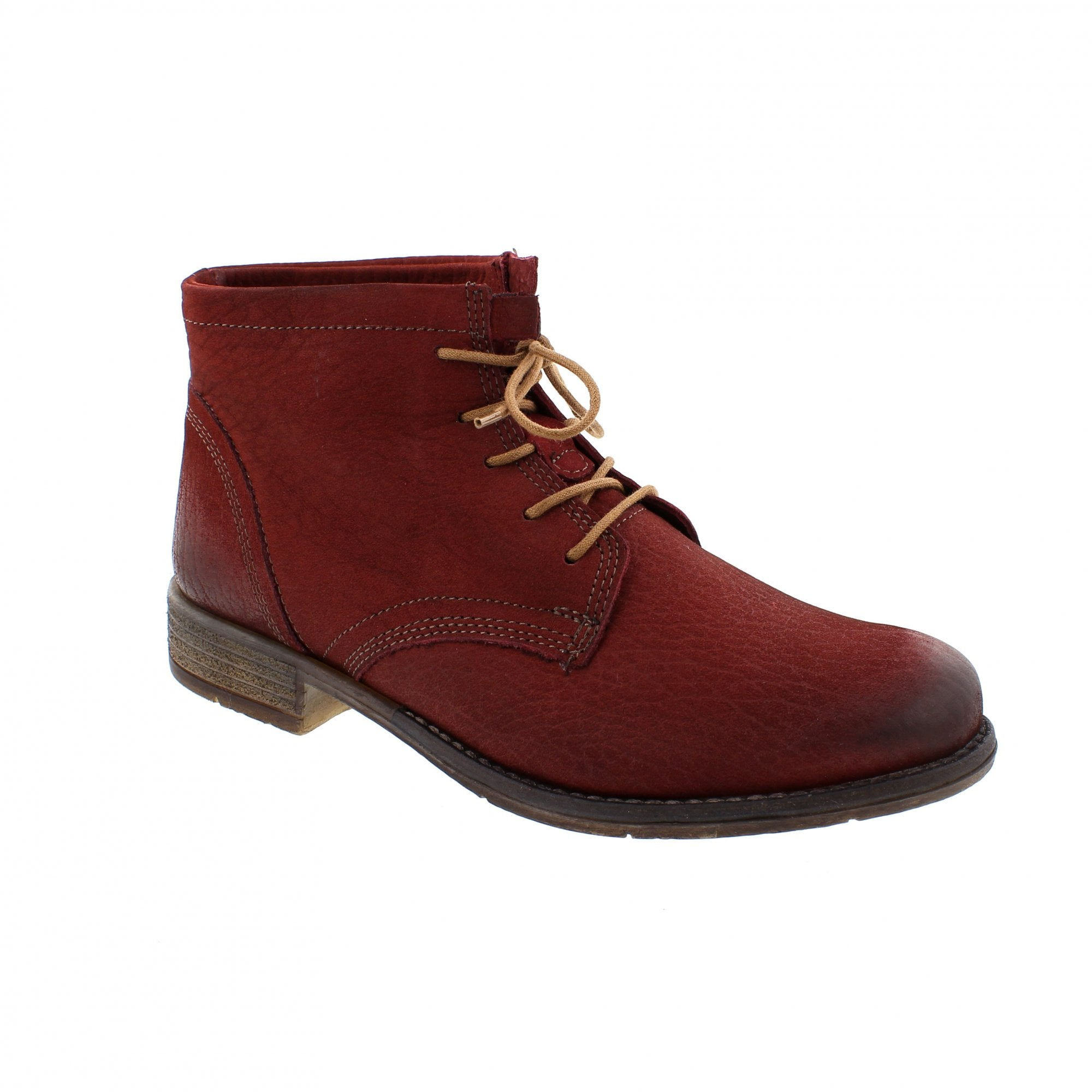 661a9a86d122e Josef Seibel Sienna 3 Red Womens Ankle Boots | Rogerson Shoes
