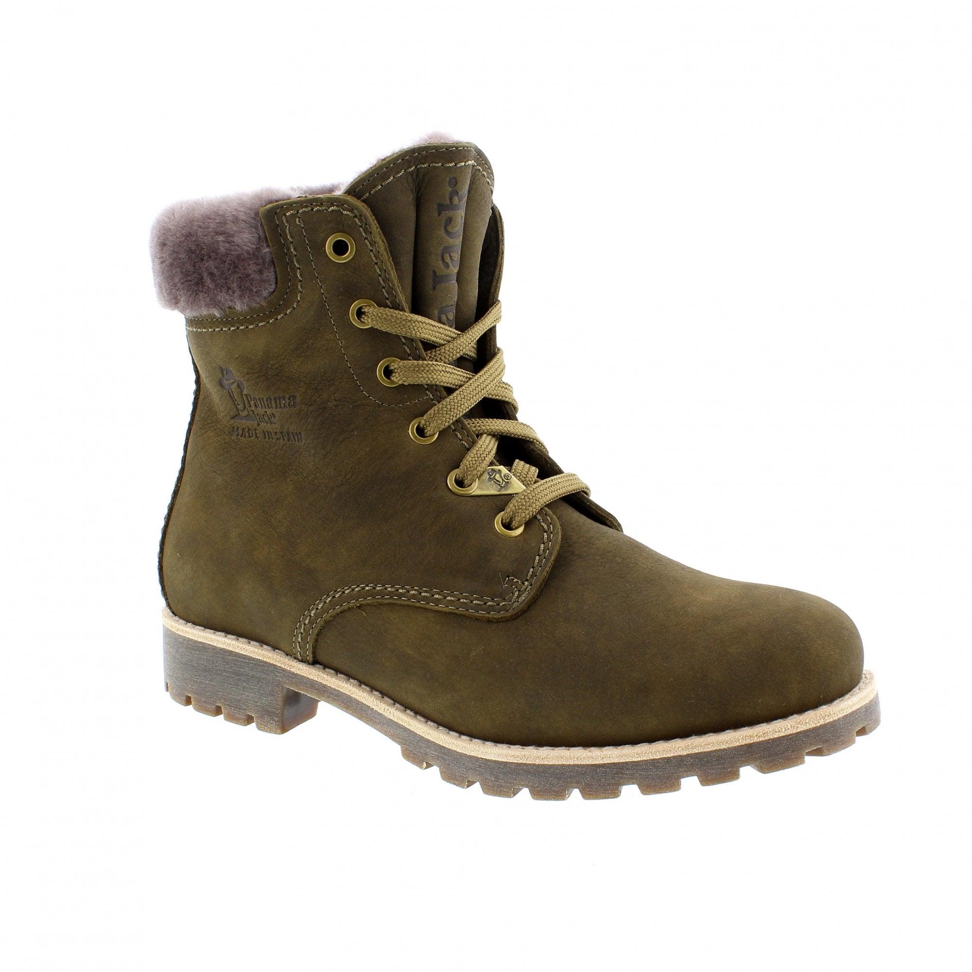 c0c1c8a067a Panama Jack Panama 03 Igloo Khaki Womens Ankle Boots
