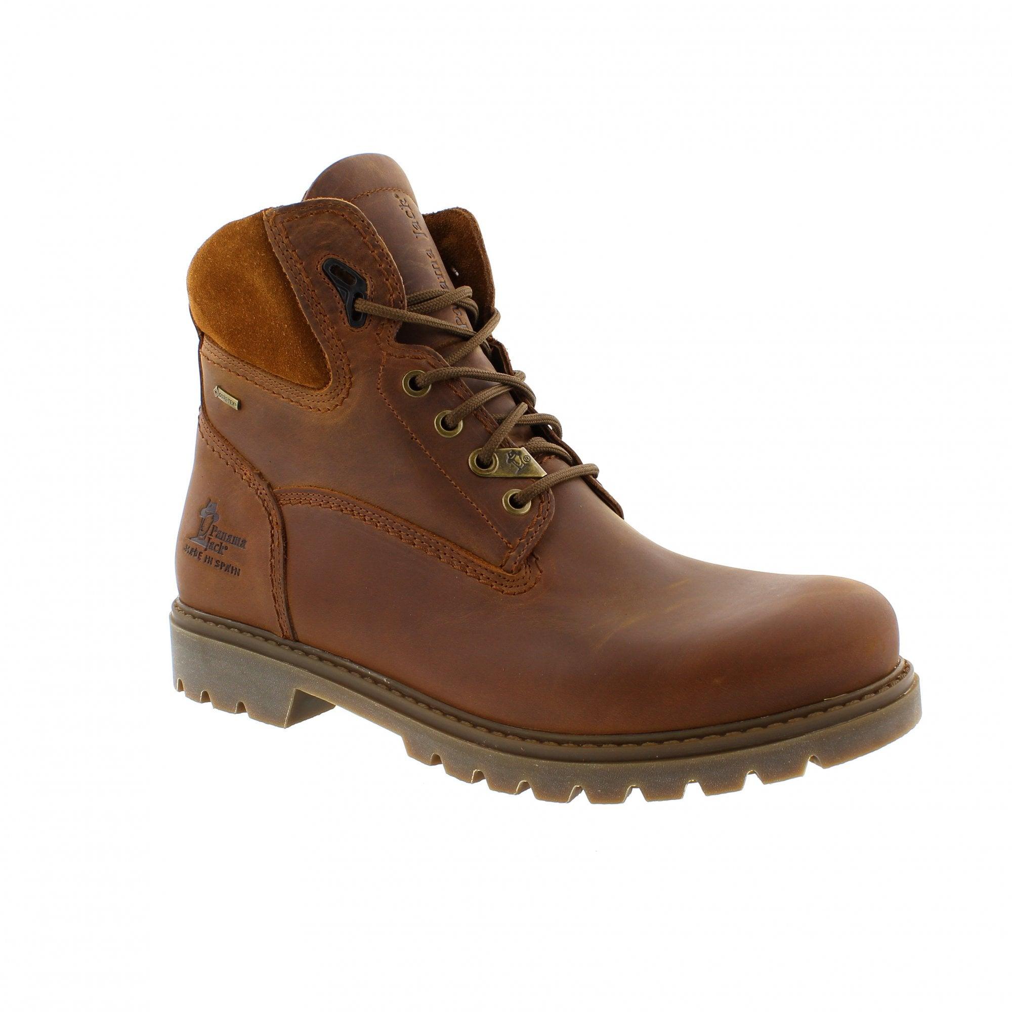eab07139 Panama Jack Amur GTX C8 Tan Mens Ankle Boots | Rogerson Shoes