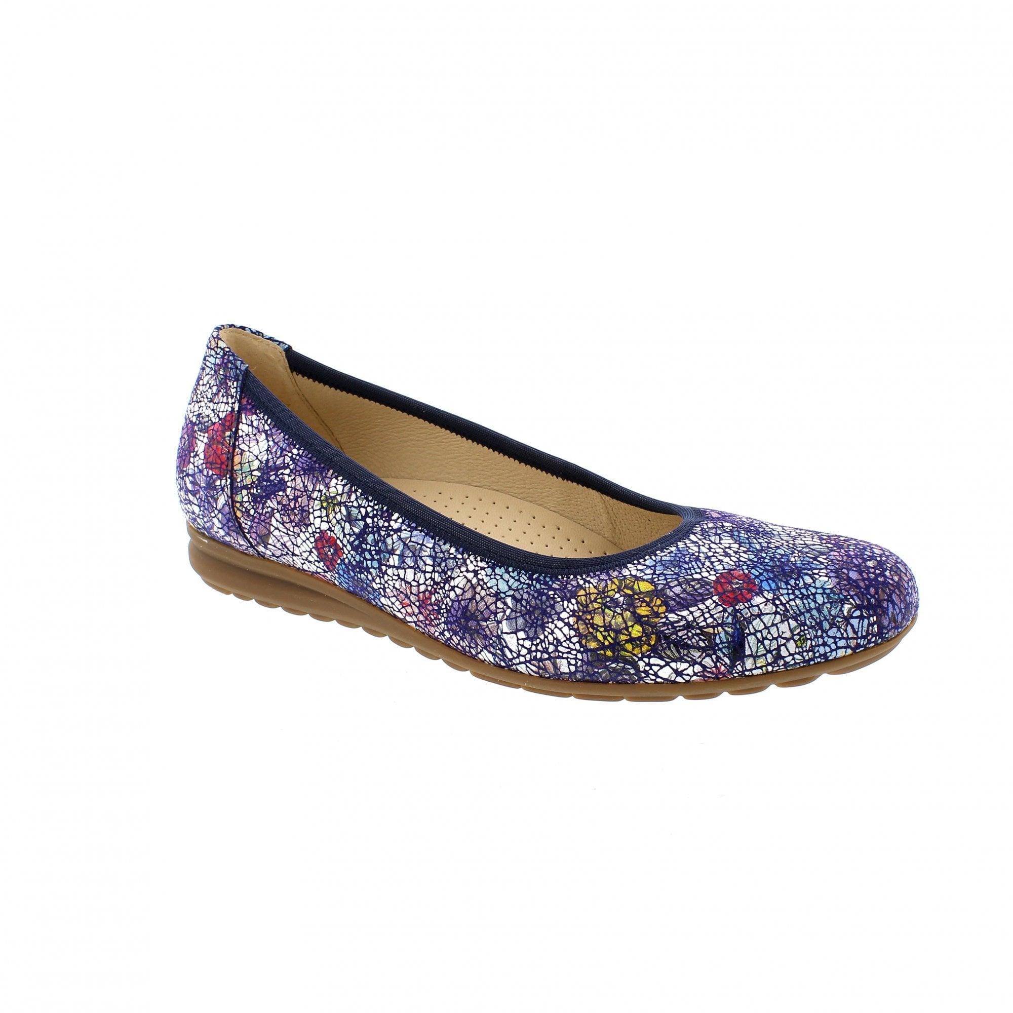 a315b30264dc3 Gabor Splash 22-620-36 Navy/Silver Womens Pumps   Rogerson Shoes