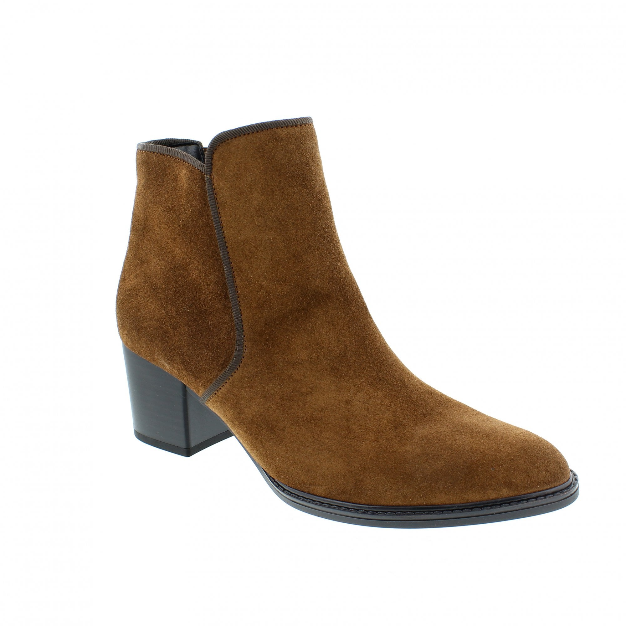Gabor Robina Tan Suede Womens Ankle