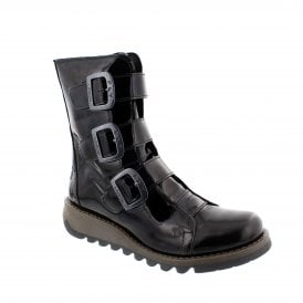 26461f47ad9 Fly London Scop 144110-008 Womens Mid Calf Boots