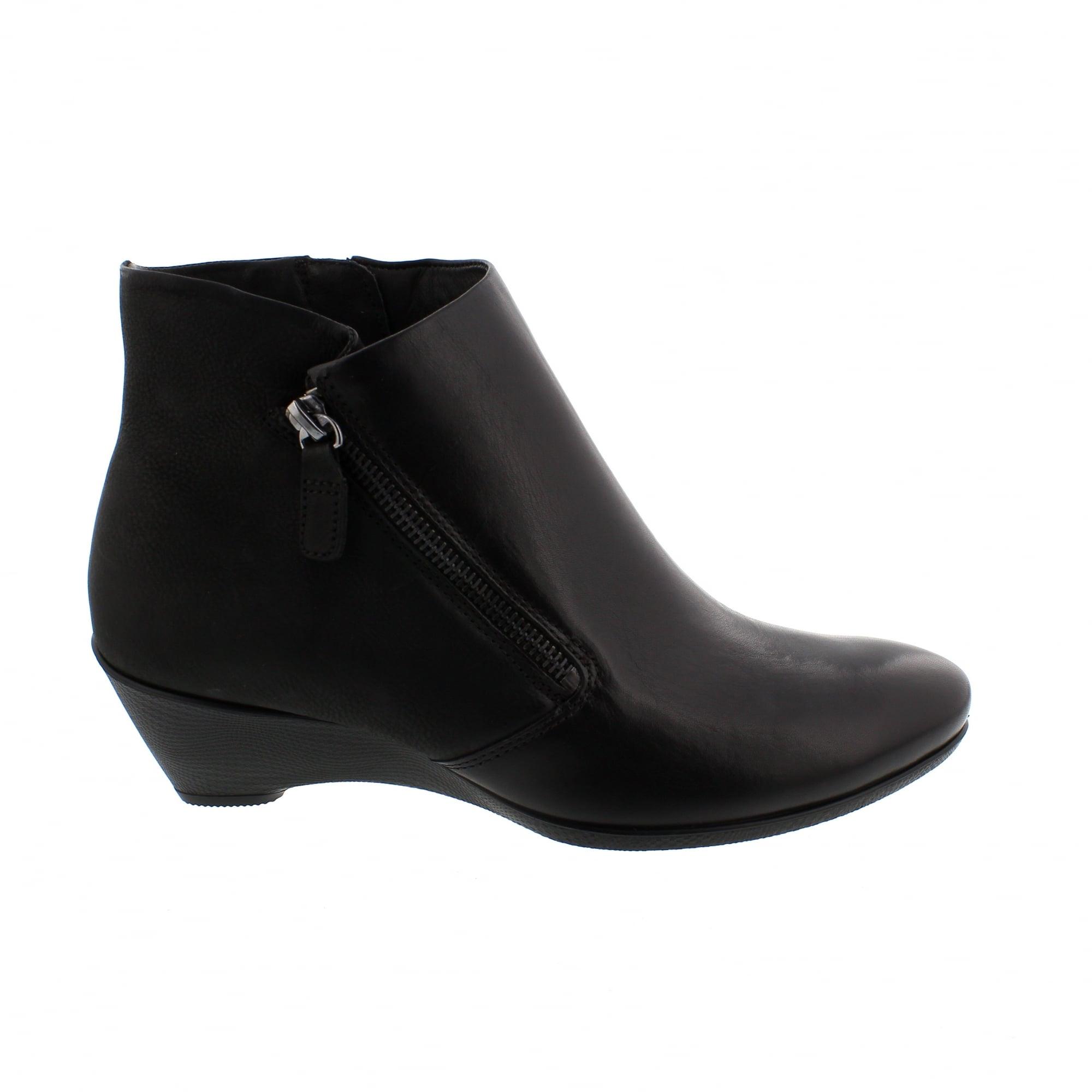 7e20ddf64813b7 Ecco Sculptured 45 270043-51052 Womens Ankle Boots