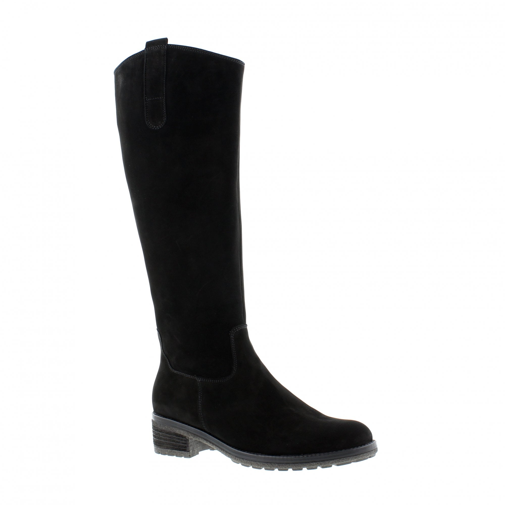 wholesale outlet reputable site best sneakers Gabor Shields L-Fit 91-616-17 Black Knee High Boots | Rogerson Shoes