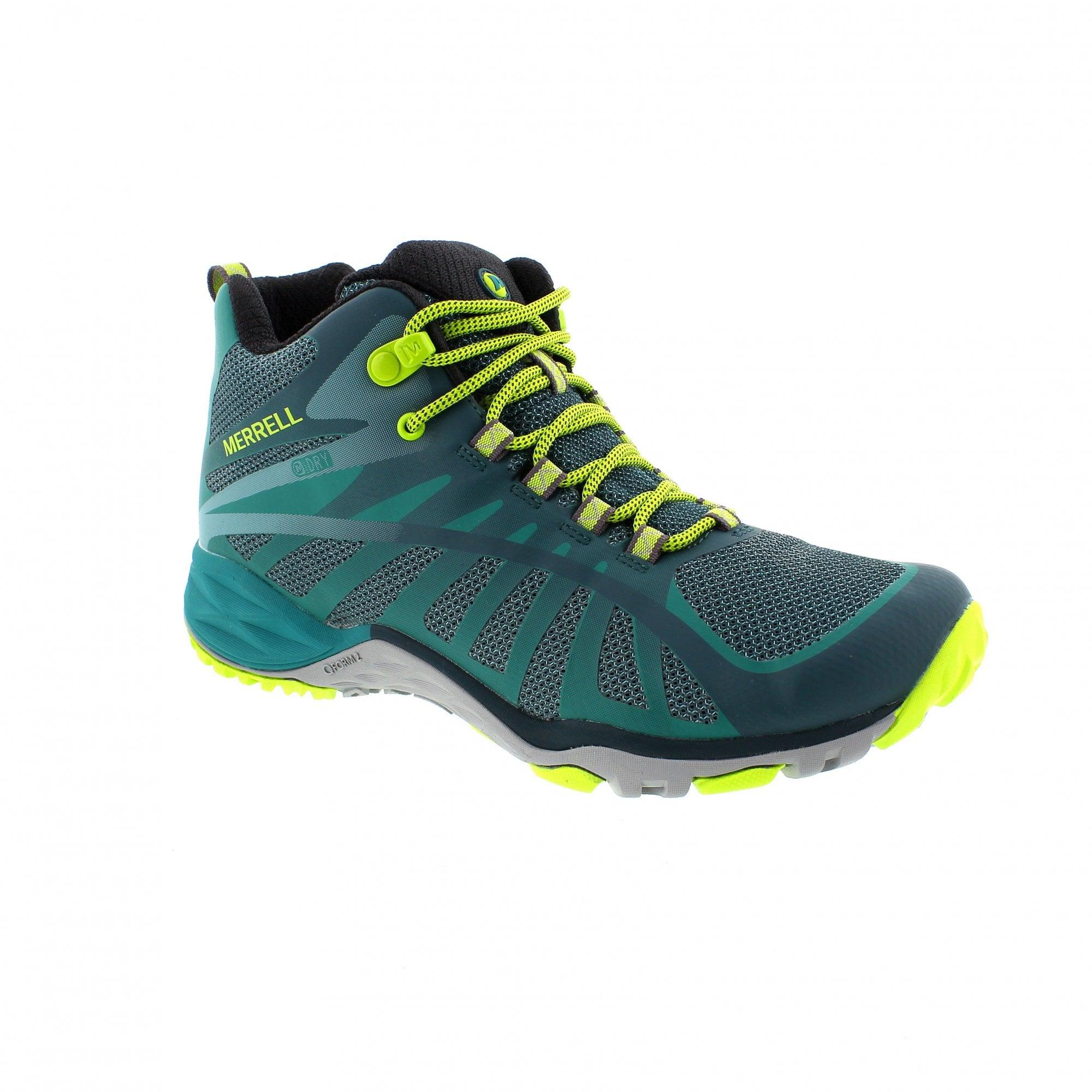 216d22eede29 Merrell Siren Edge Q2 Mid Waterproof J77542 Womens Walking Boots ...