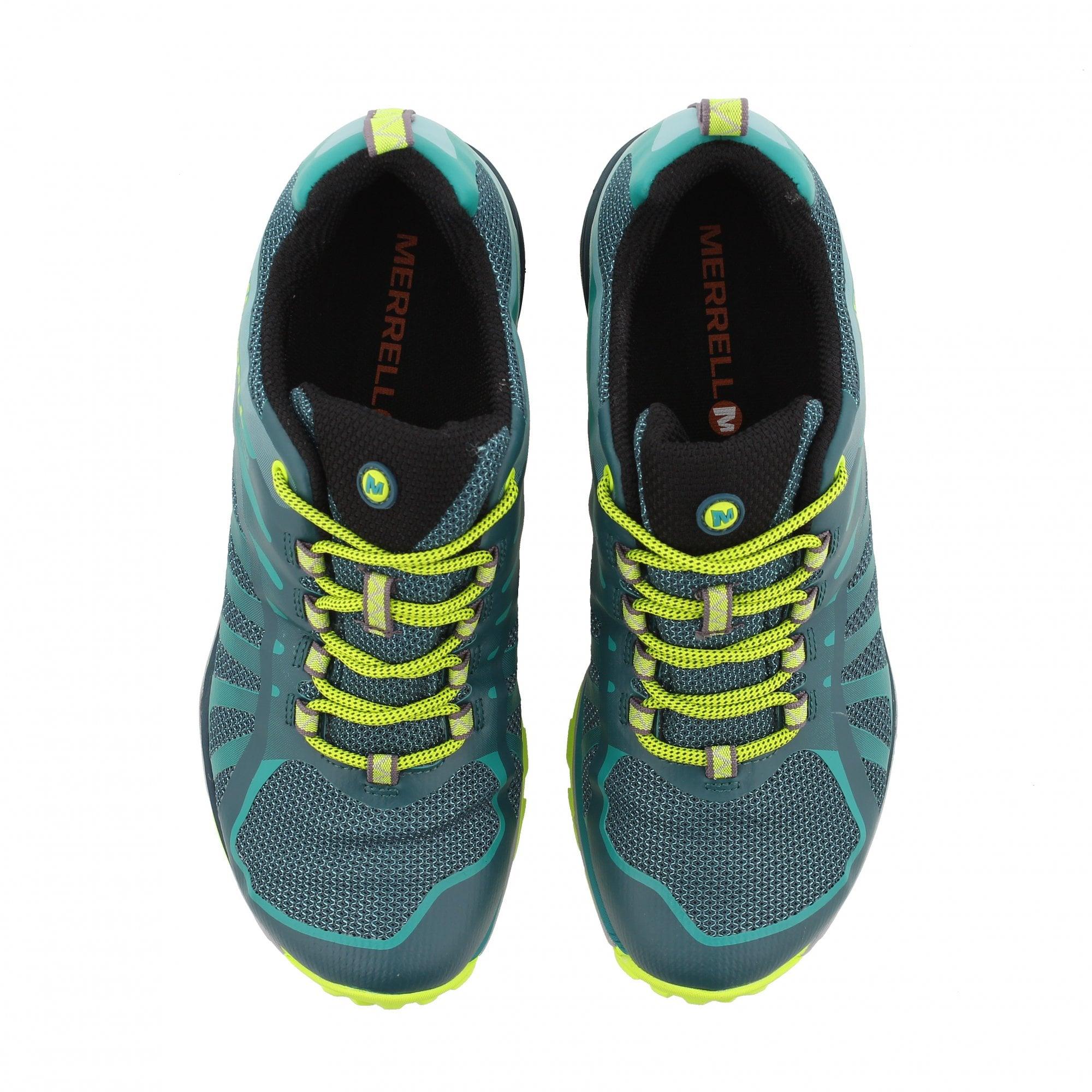 Purple Merrell Siren Edge Q2 Waterproof Womens Walking Shoes