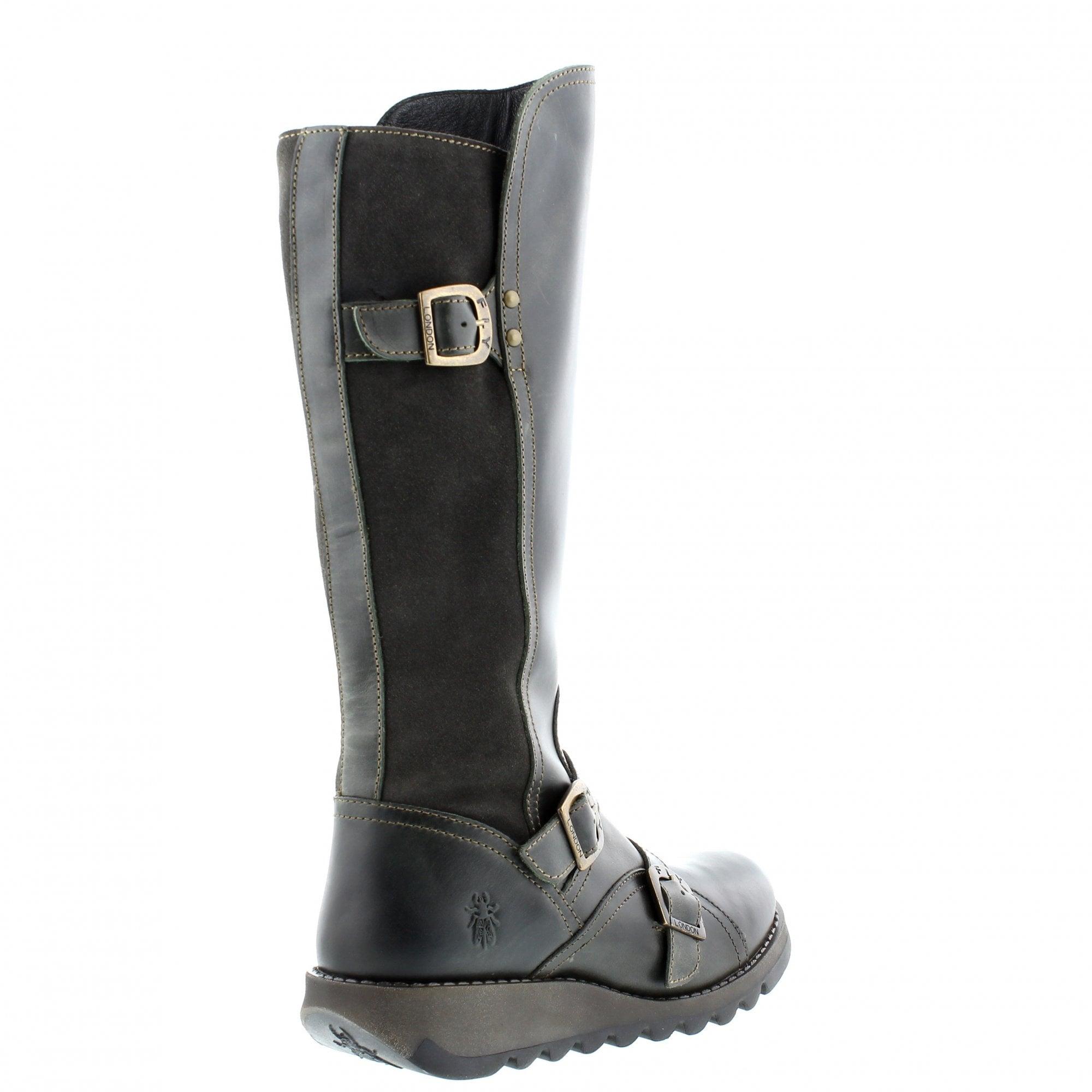 8e09c301fd1 Fly Suda 144361-003 Knee High Boots