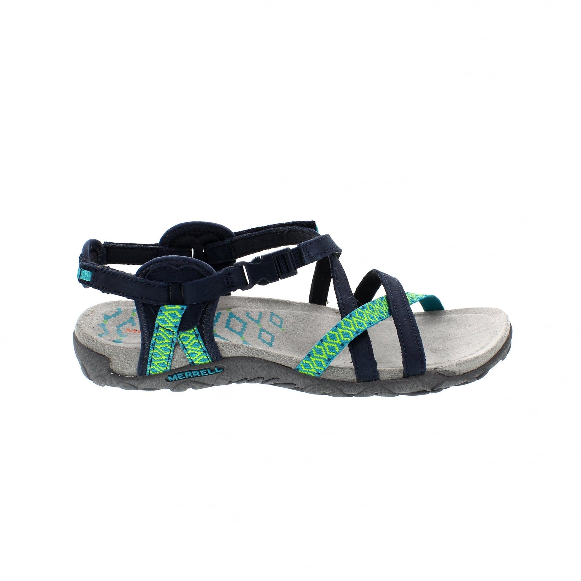 7b6677a1cf71 Merrell Terran Lattice II J56516 Womens Walking Sandals