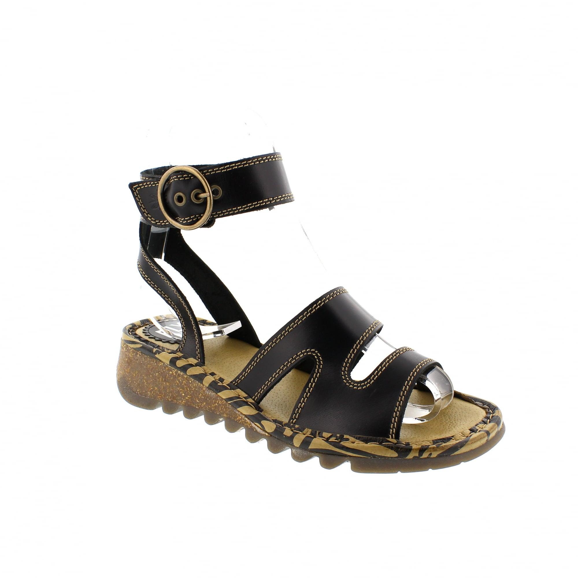 20fd56eae5b3 Fly London Tily 500722-000 Womens Sandals