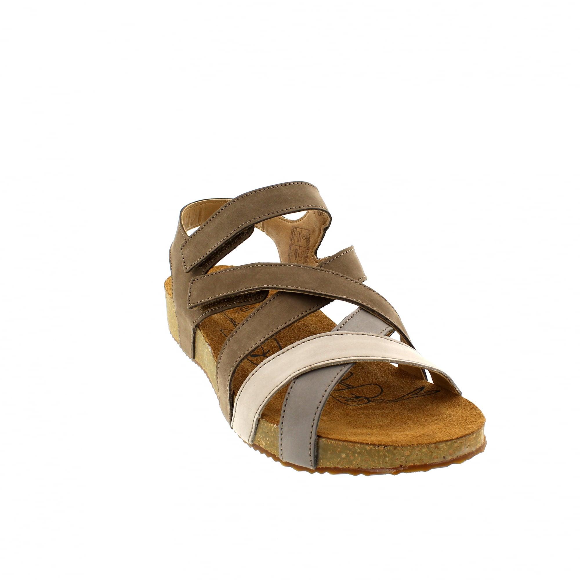 34de84a9086f Josef Seibel Tonga 37 78537-724250 Taupe Womens Sandals