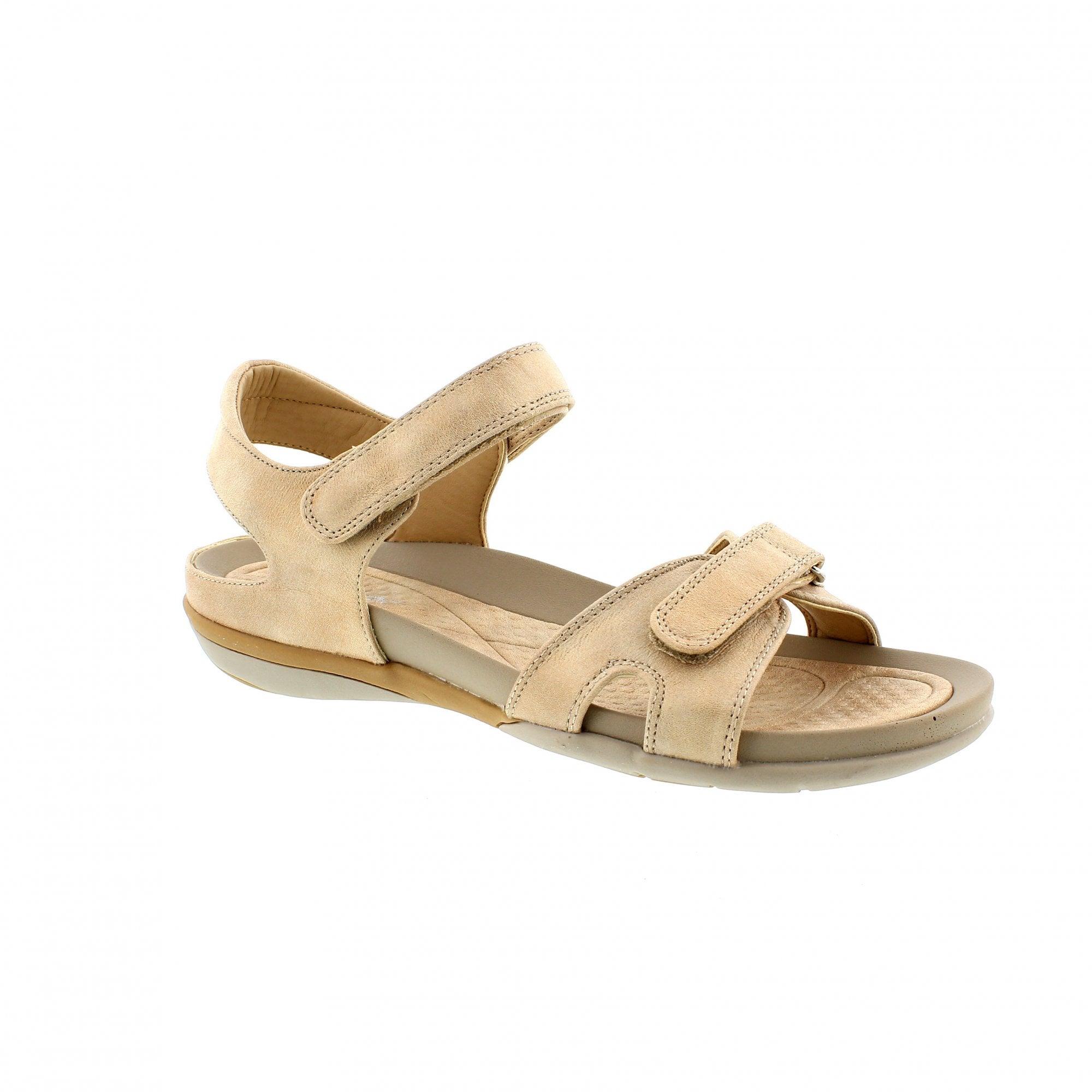 3fe89f3f8 Rieker V9462-62 Beige Womens Sandals