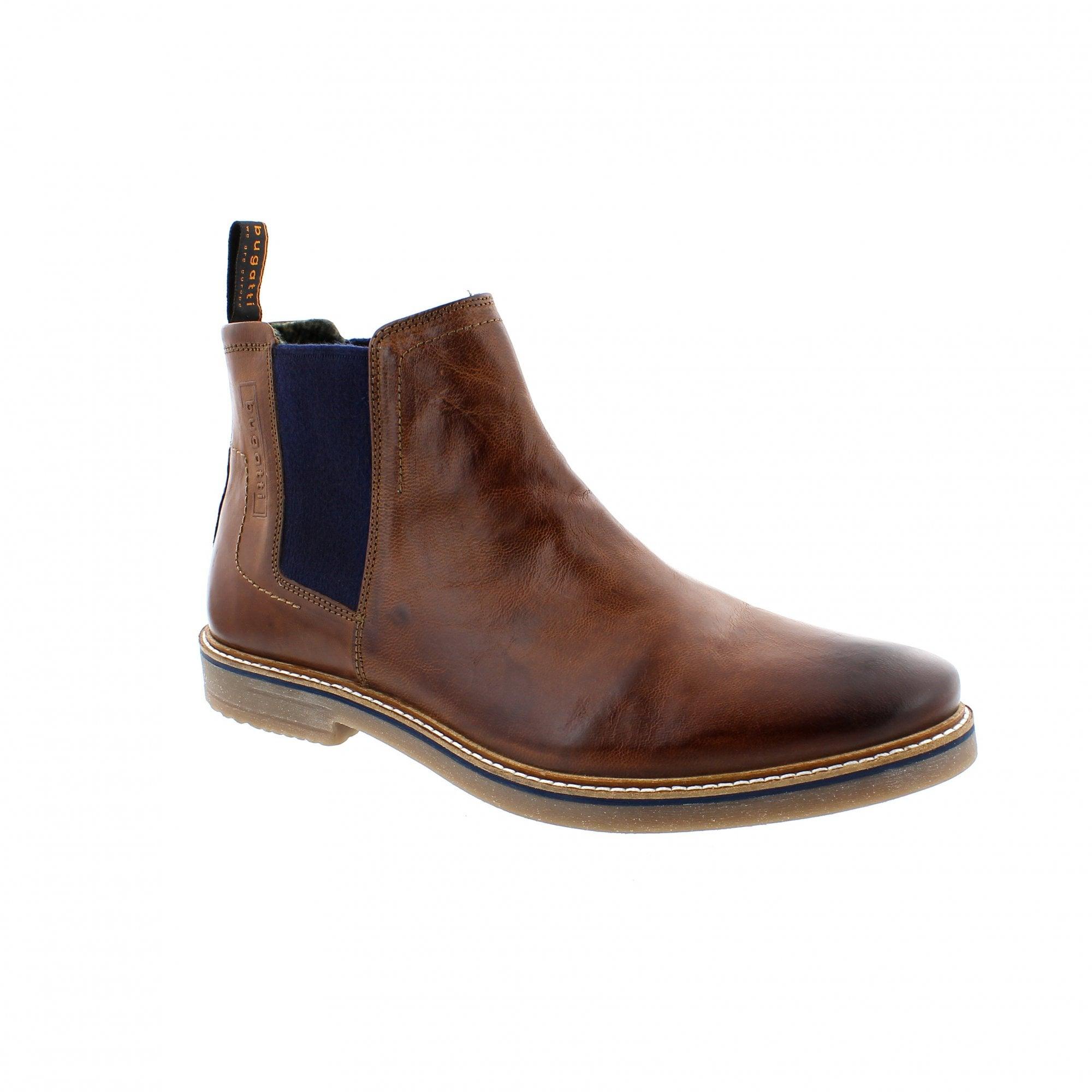 pre order innovative design the cheapest Bugatti Vando 311-60930-3000-6300 Mens Ankle Boots   Rogerson Shoes