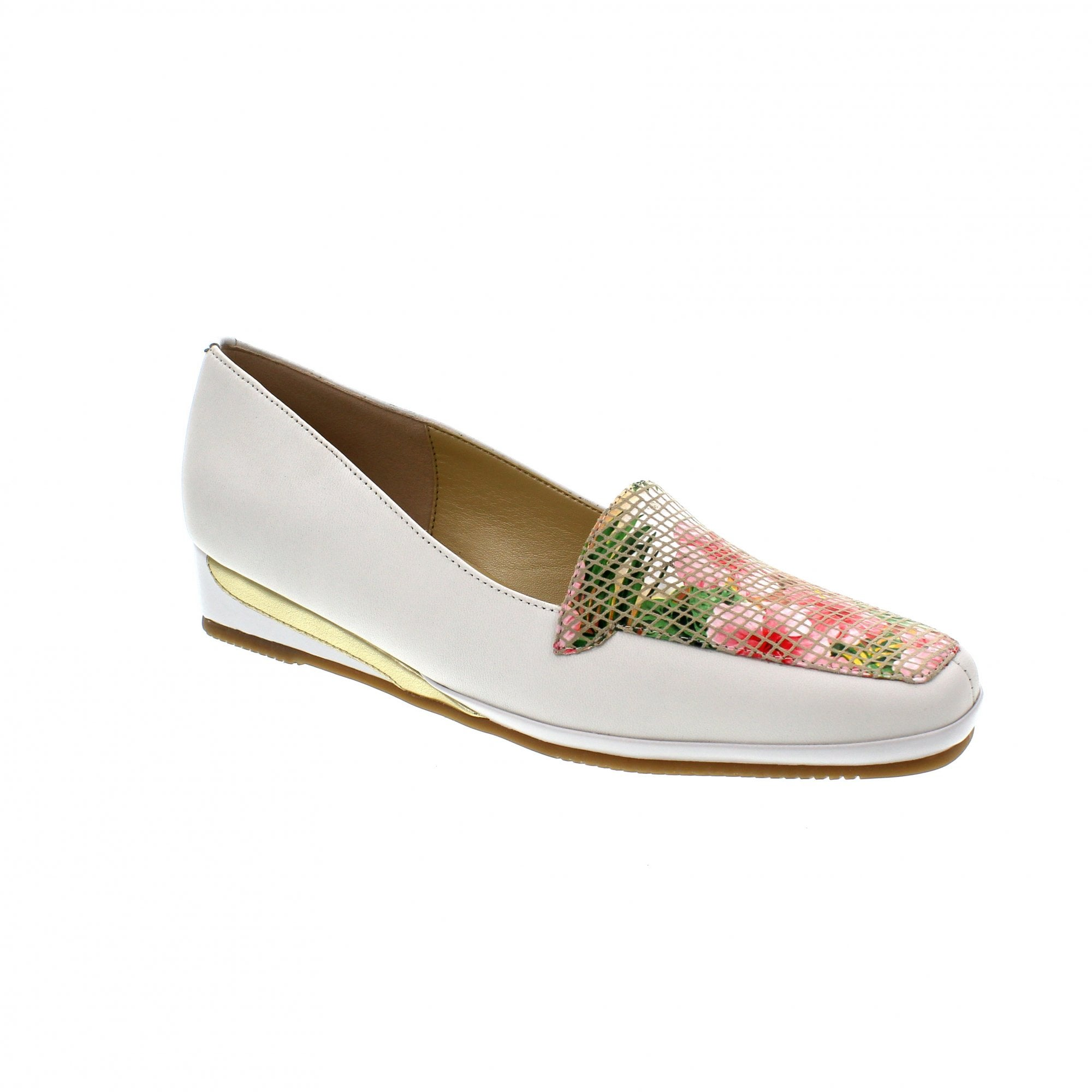 1391bb03c4af4 Van Dal Verona III 0639940 White/Rose Slip On Shoes | Rogerson Shoes