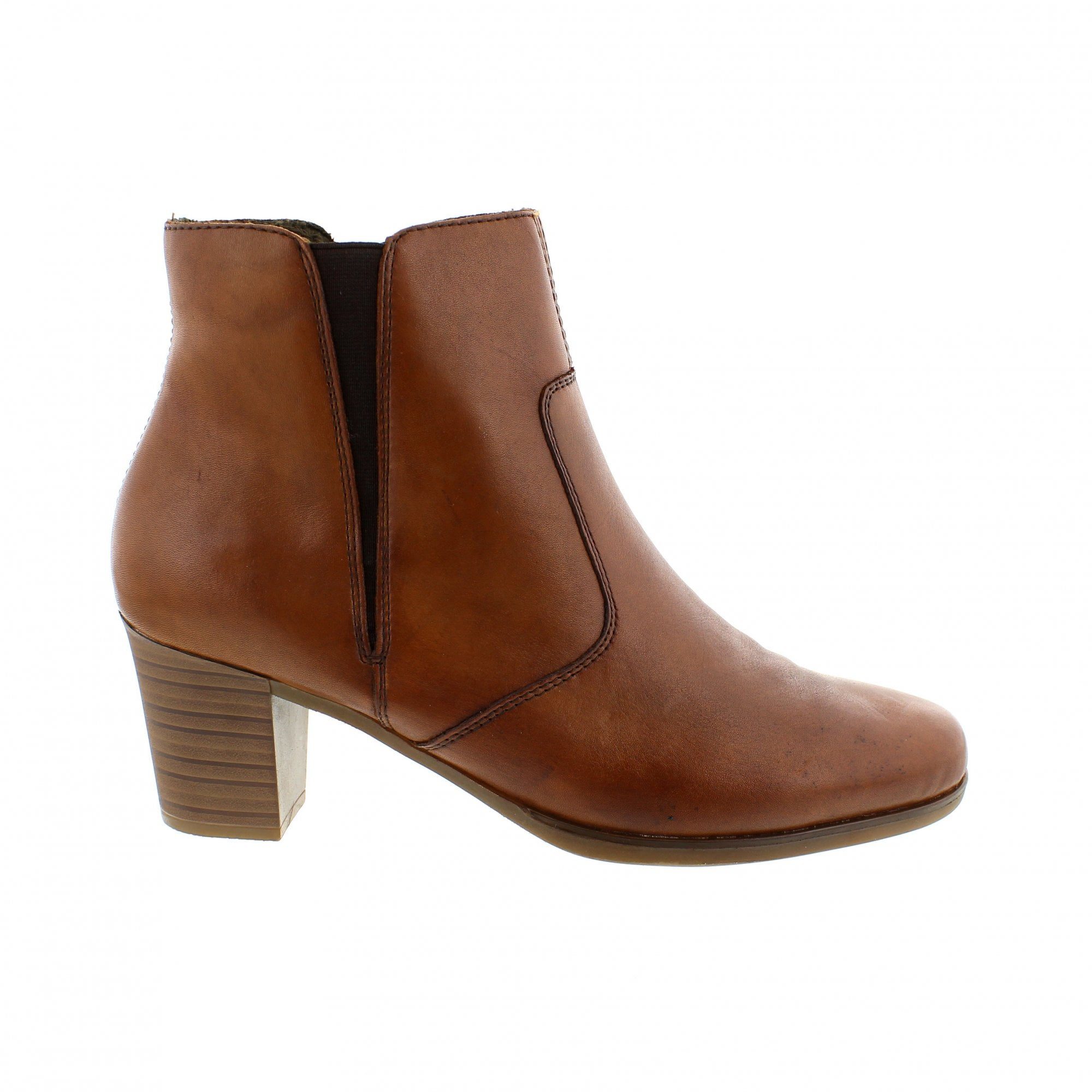 promo code 15690 ef27b Rieker Y8989-22 Womens Tan Ankle Boots
