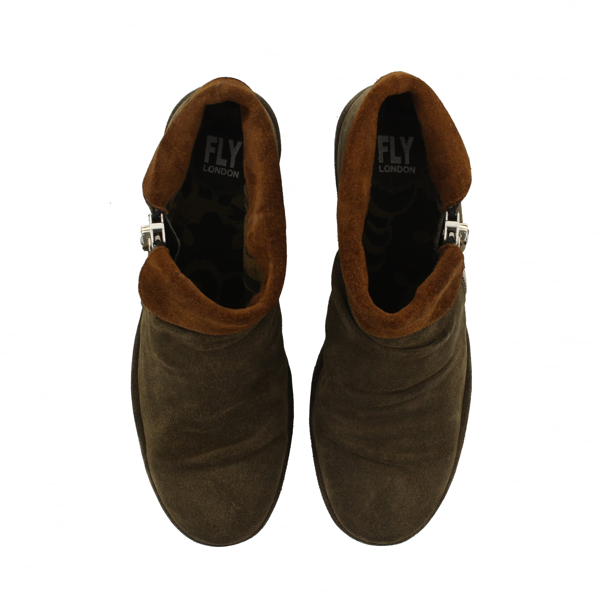 best wholesaler authorized site get cheap Fly London Yoxi Ankle Boots Taupe   Fly London Sale   Rogerson Shoes