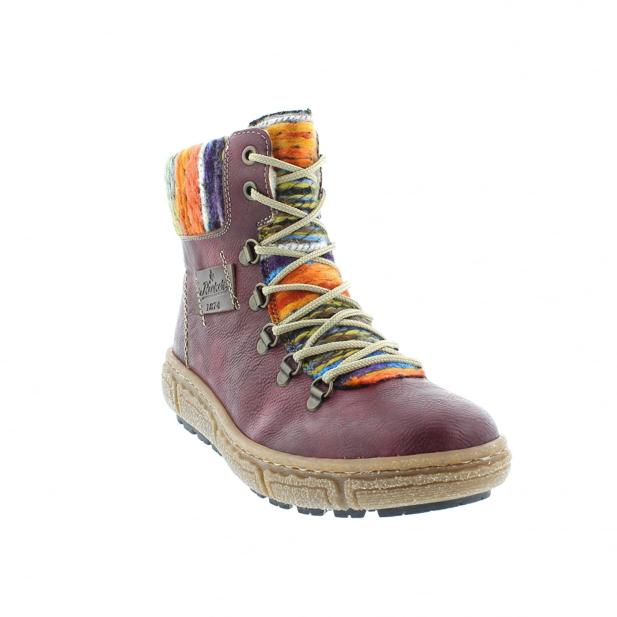 Ankle Boots Z7943 Womens Indigo Shoesamp; Bags Rieker H9IDYeEW2